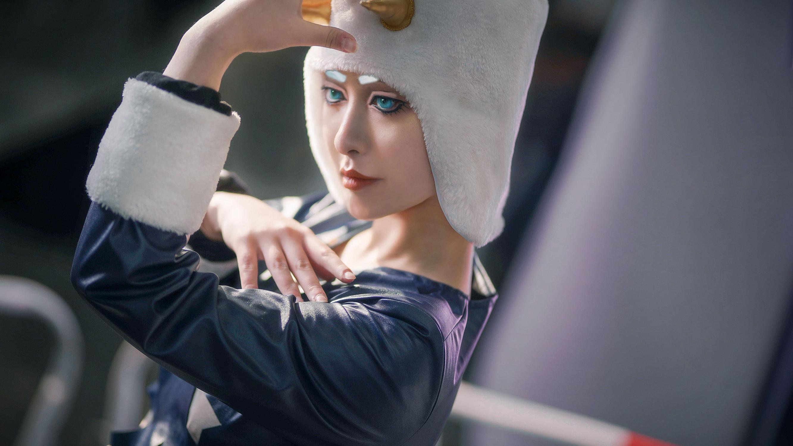 《JOJO的奇妙冒险》石之海cosplay【CN:Tariden_禾忆嘉】-第4张