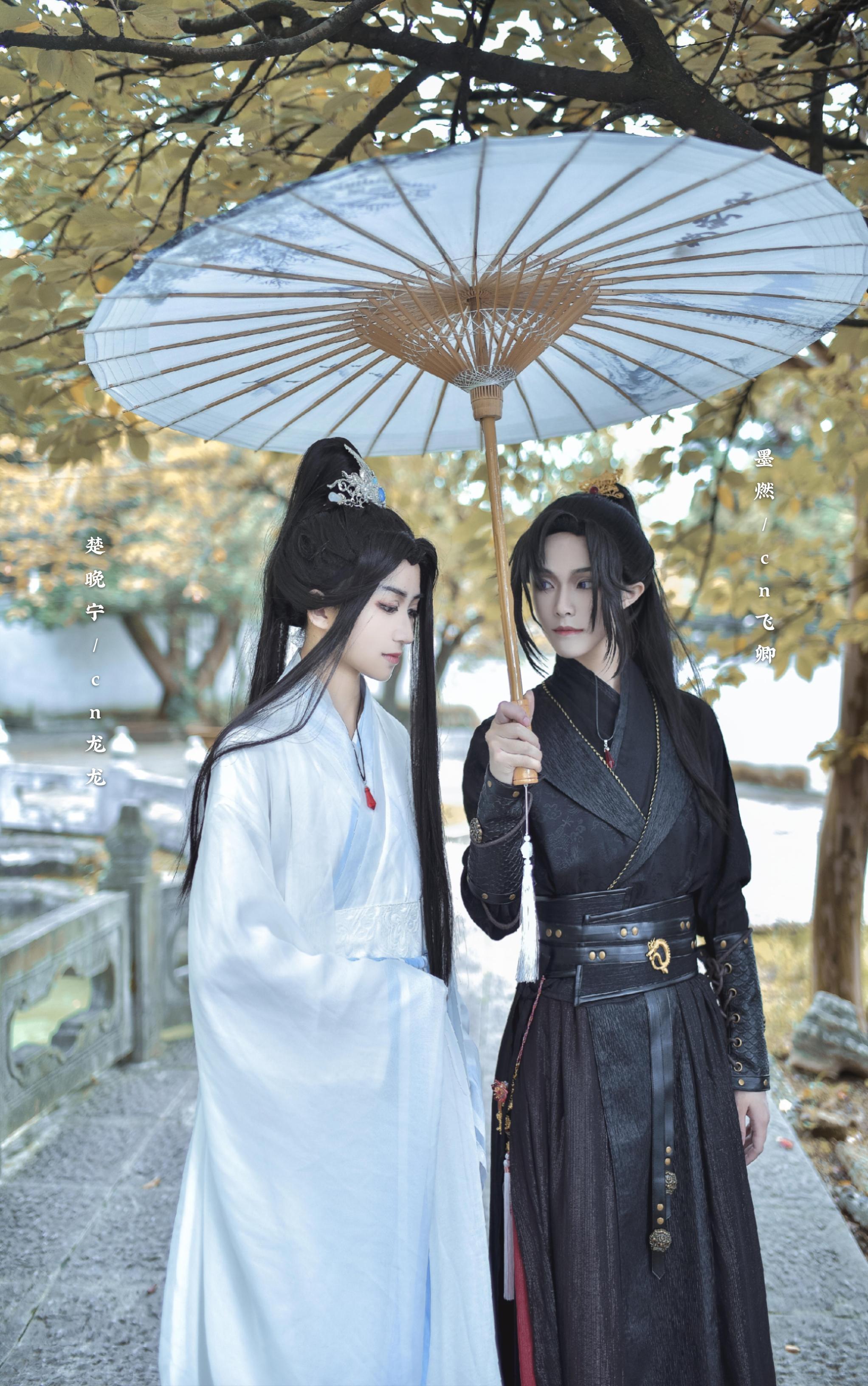 《二哈和他的白猫师尊》楚晚宁cosplay【CN:飞卿AIER_】-第7张