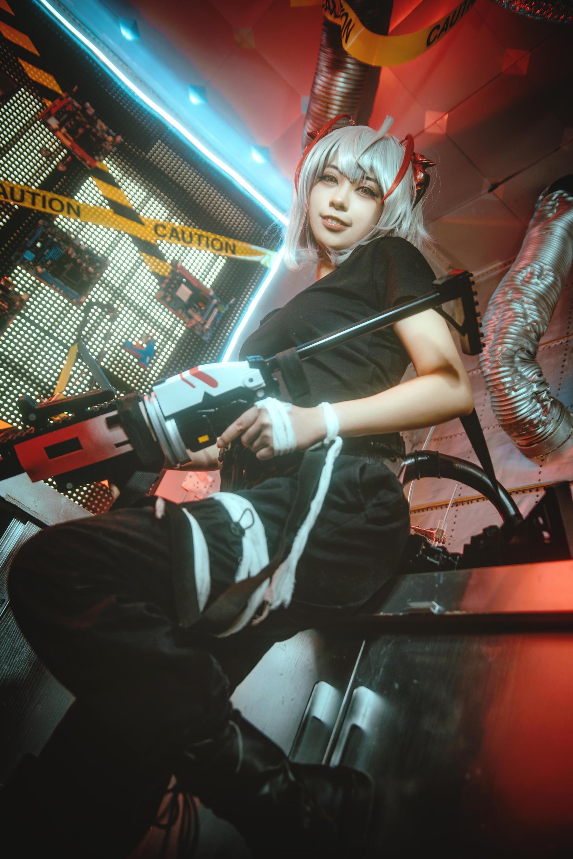 《明日方舟》游戏cosplay【CN:苍央鲤庭】-第7张