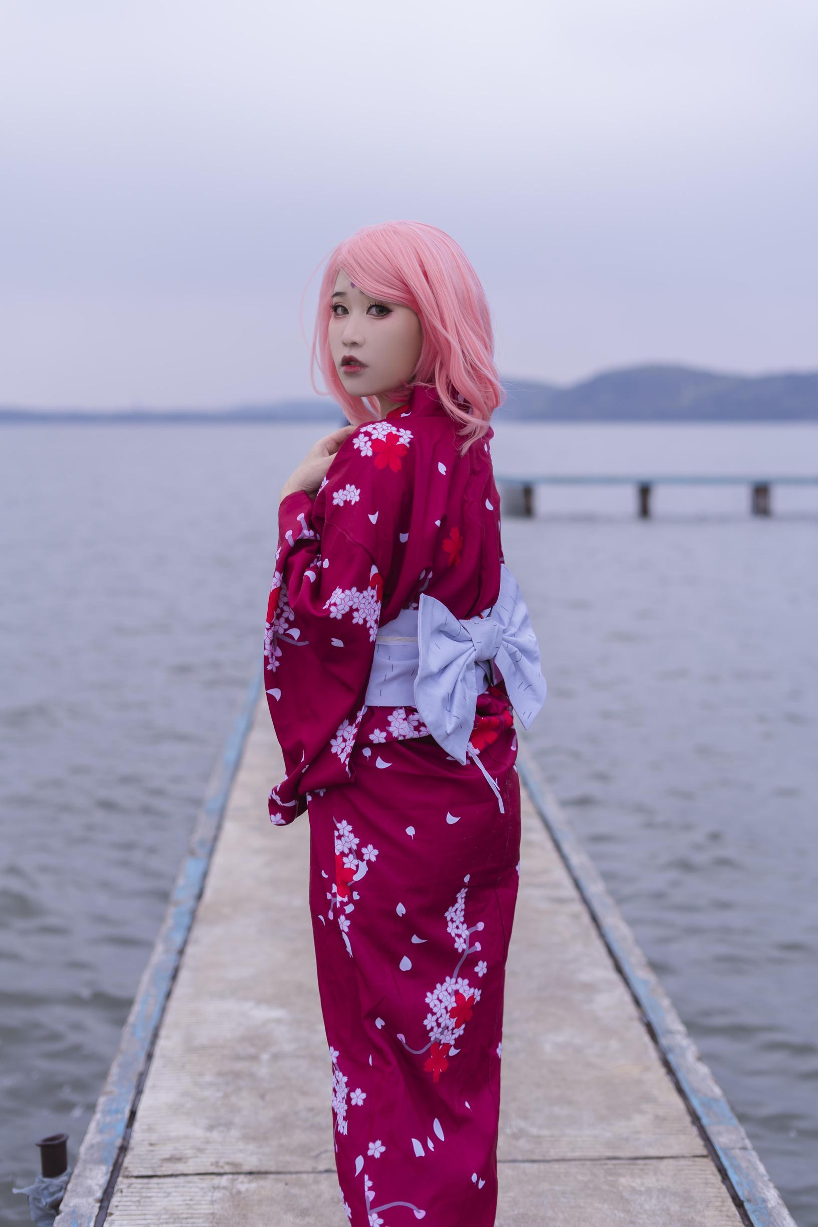 《火影忍者》火影忍者春野樱cosplay【CN:Naraku阿峰】-第9张