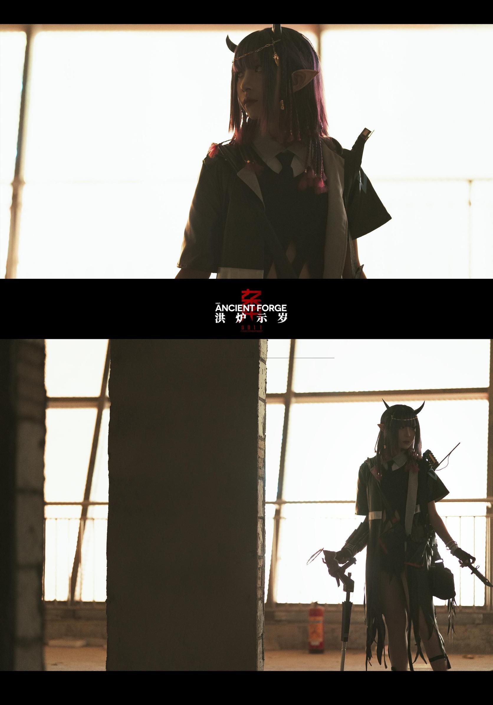 《明日方舟》游戏cosplay【CN:阿芷今天光合作用了吗】-第7张