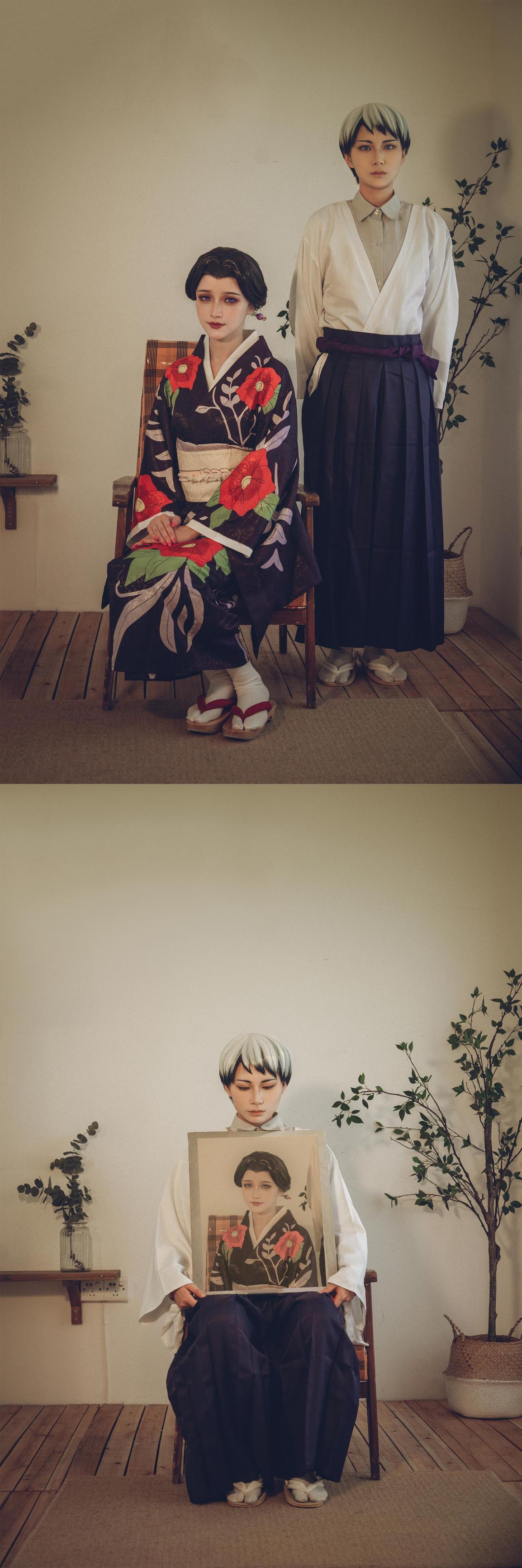 《鬼灭之刃》愈史郎cosplay【CN:-动漫cosplay图片女装靥-】 –插图