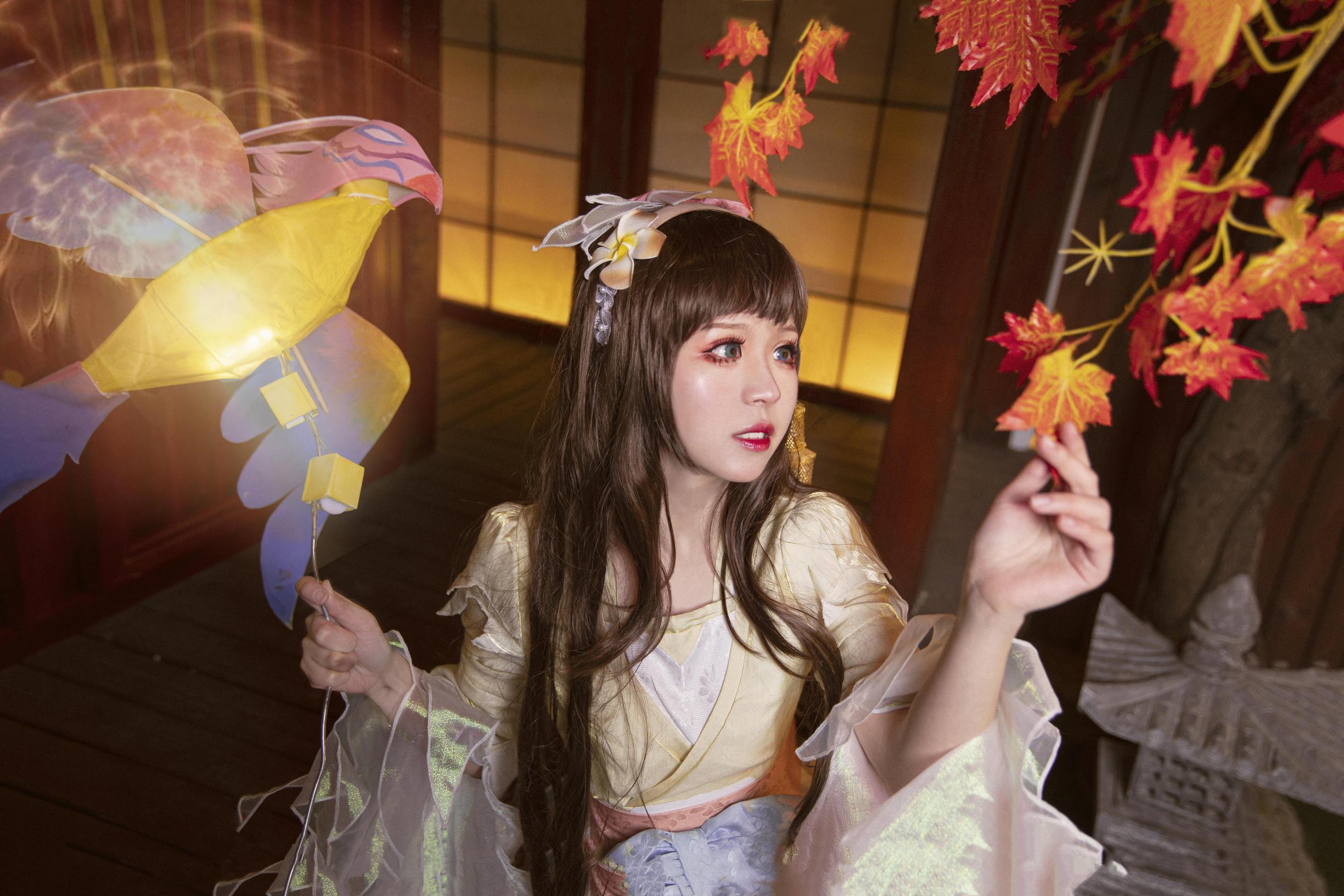 《王者荣耀》不知火舞cosplay【CN:阿琴Cc】-第3张