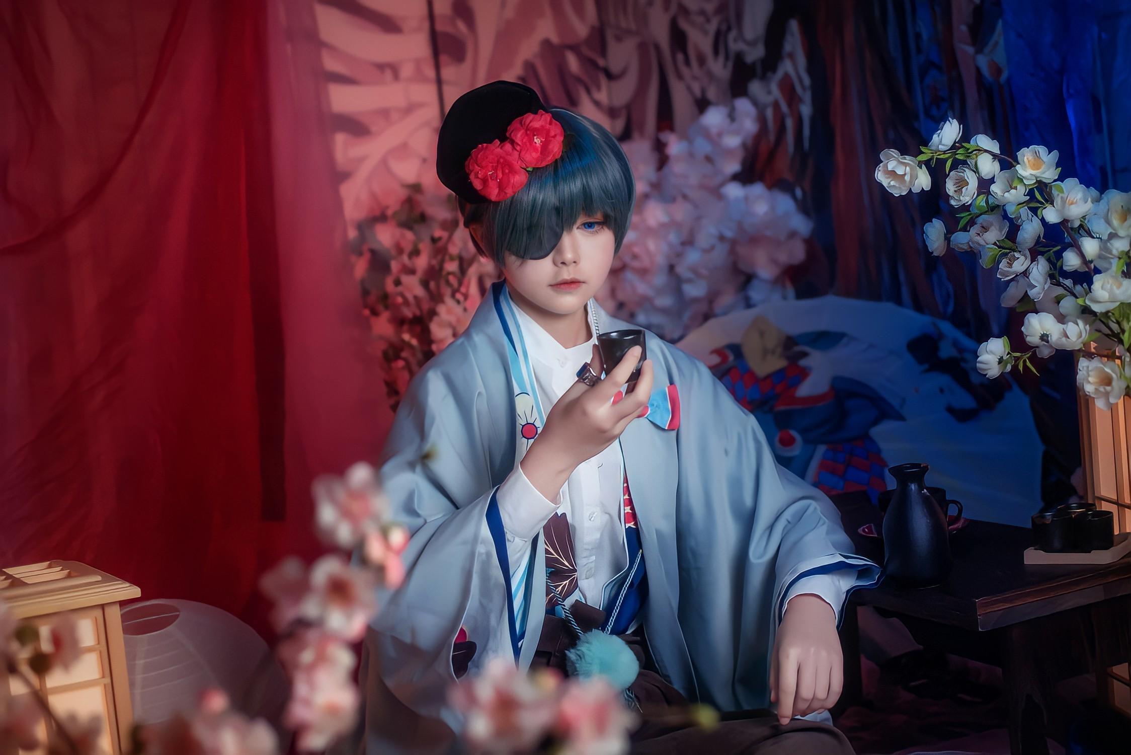 《黑执事》夏尔cosplay【CN:一点也不软的奶芙呀】-第4张