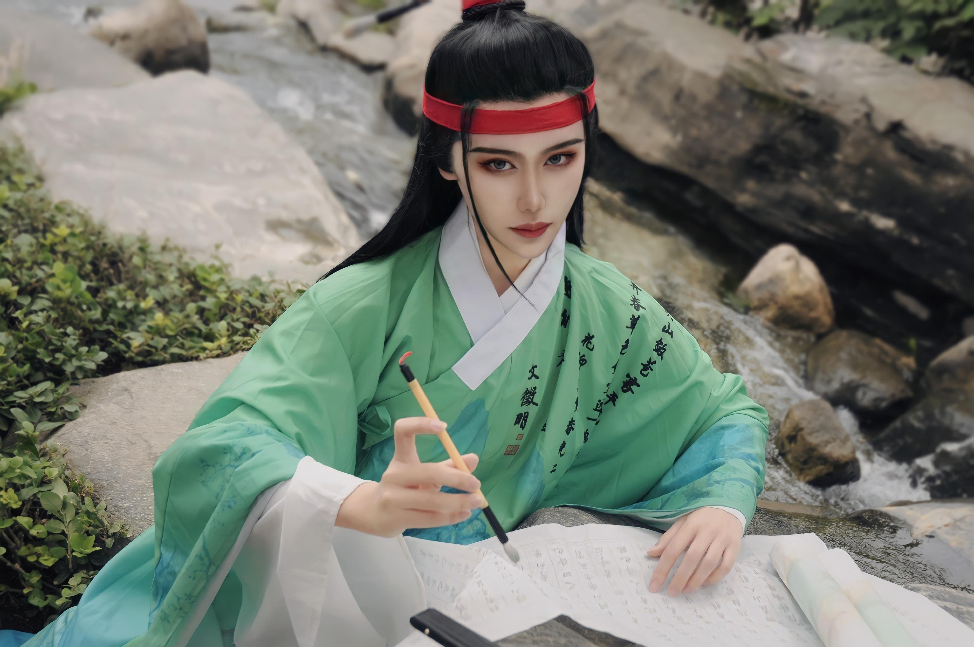 《江南百景图》漫展cosplay【CN:祈妜】-第1张