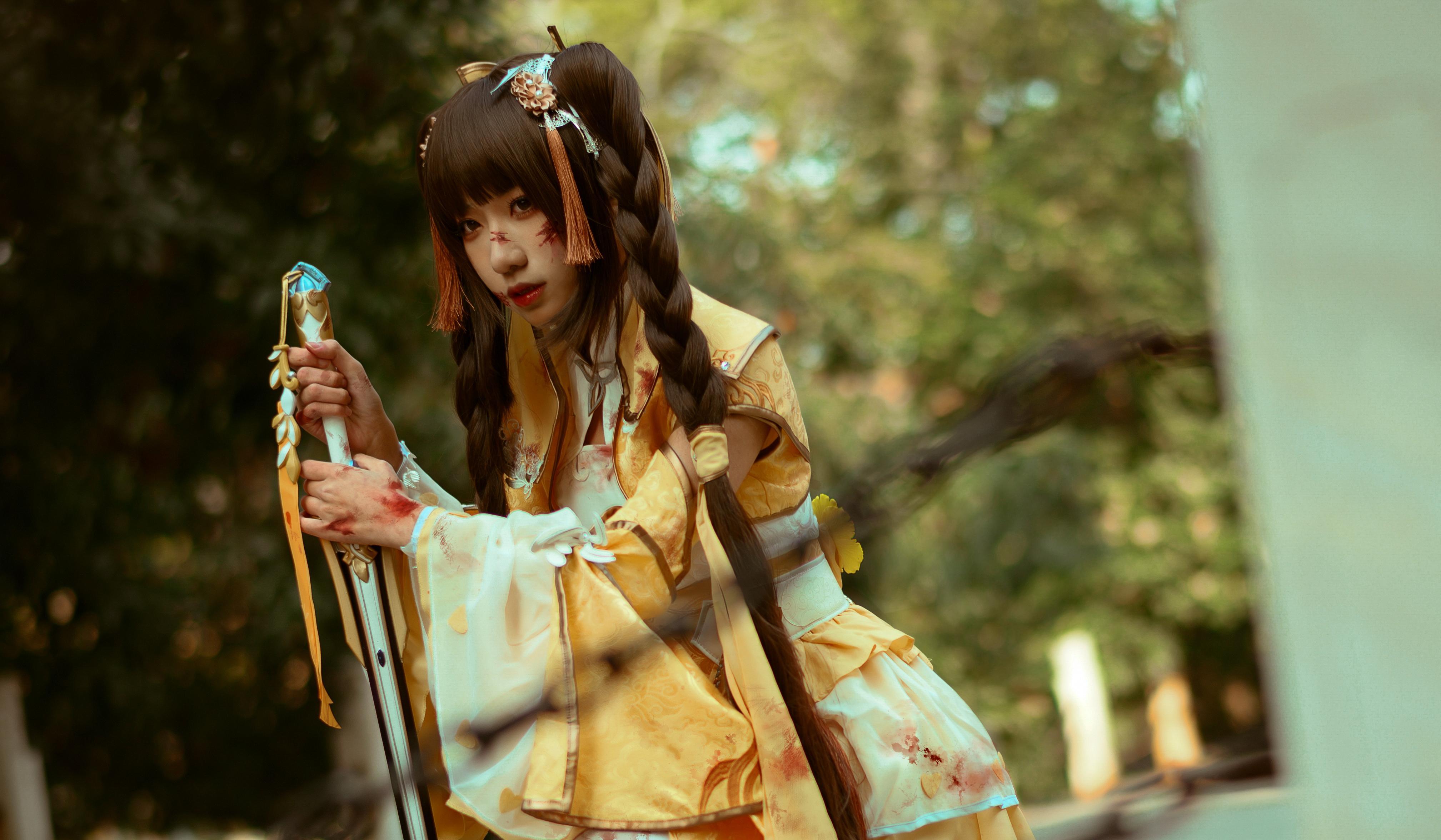 《剑侠情缘网络版叁》藏剑cosplay【CN:夏绫_】-第3张