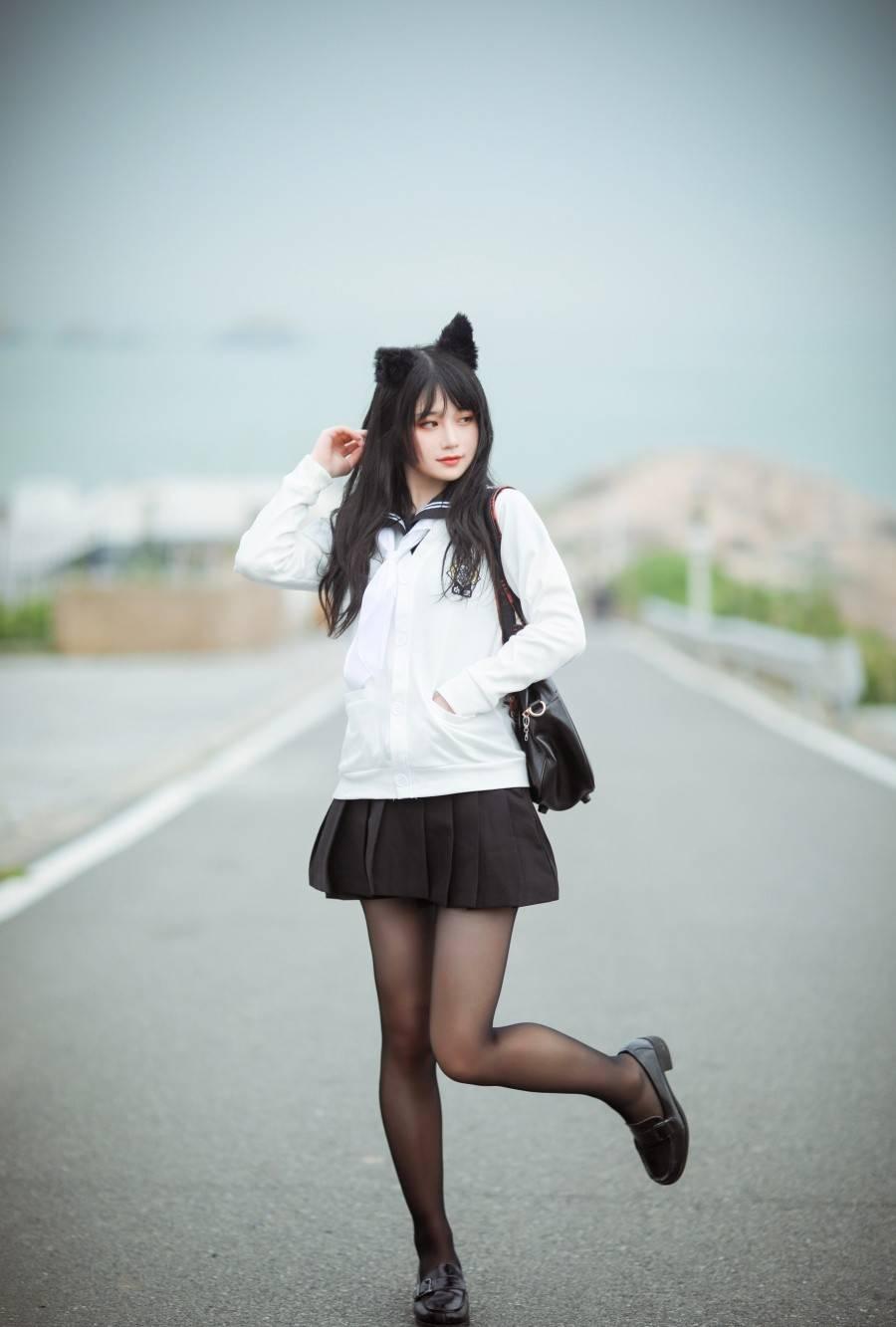 《碧蓝航线》小爱宕Cosplay【CN:甜不死的澪酱】 (5P)-第1张