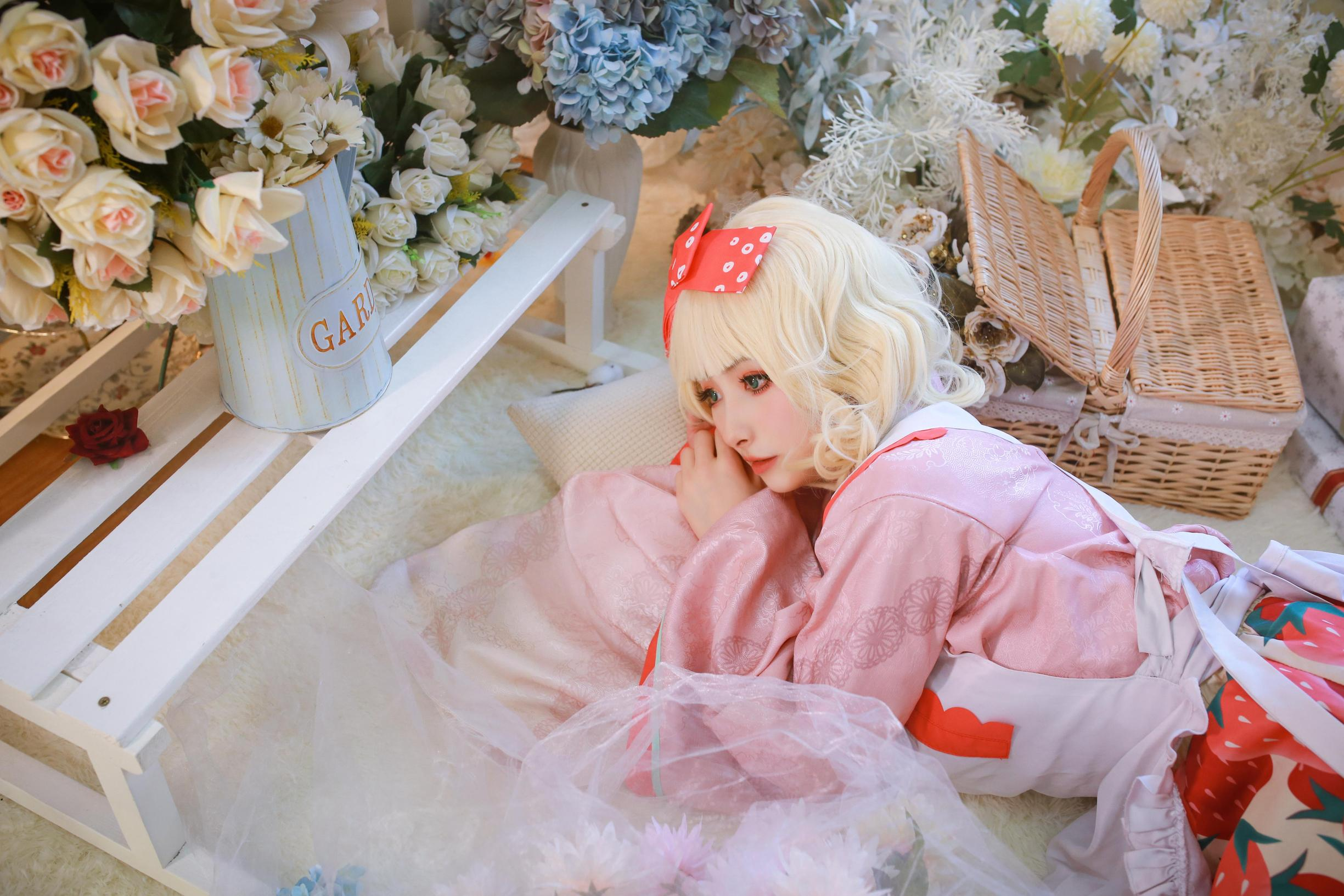 《蔷薇少女》蔷薇少女雏莓cosplay【CN:黎氿氿】-第10张