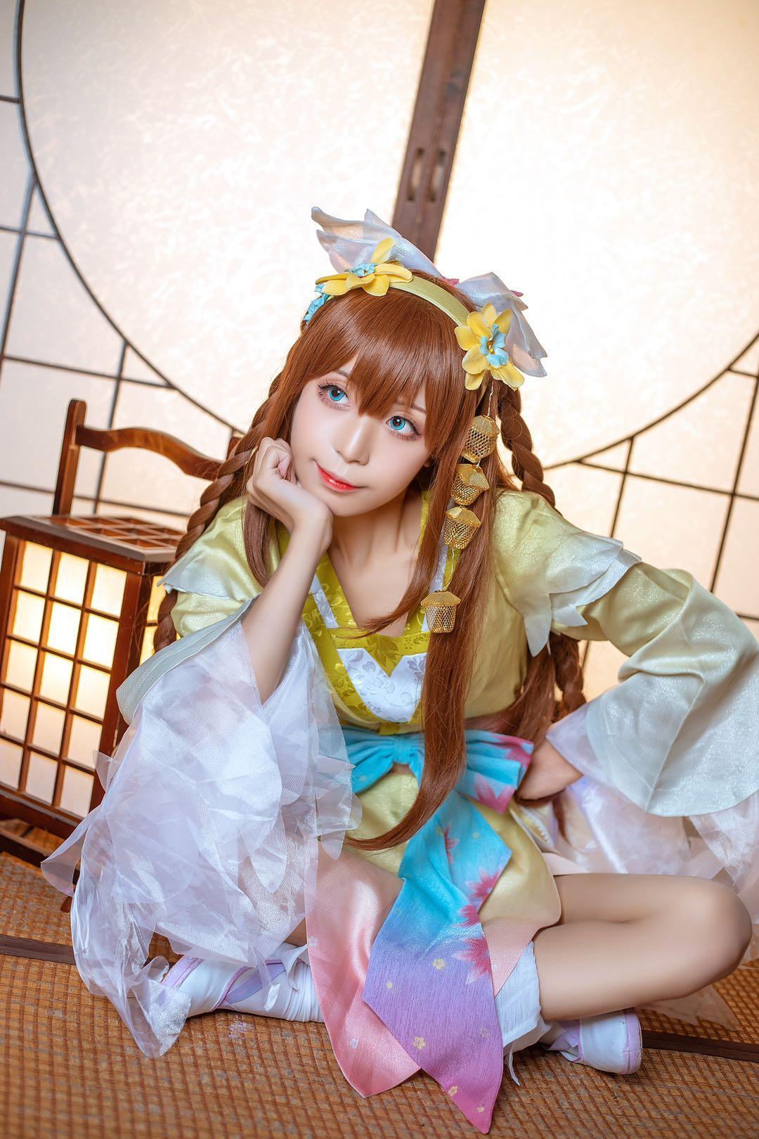 《王者荣耀》正片cosplay【CN:优优的大萝卜】-第6张