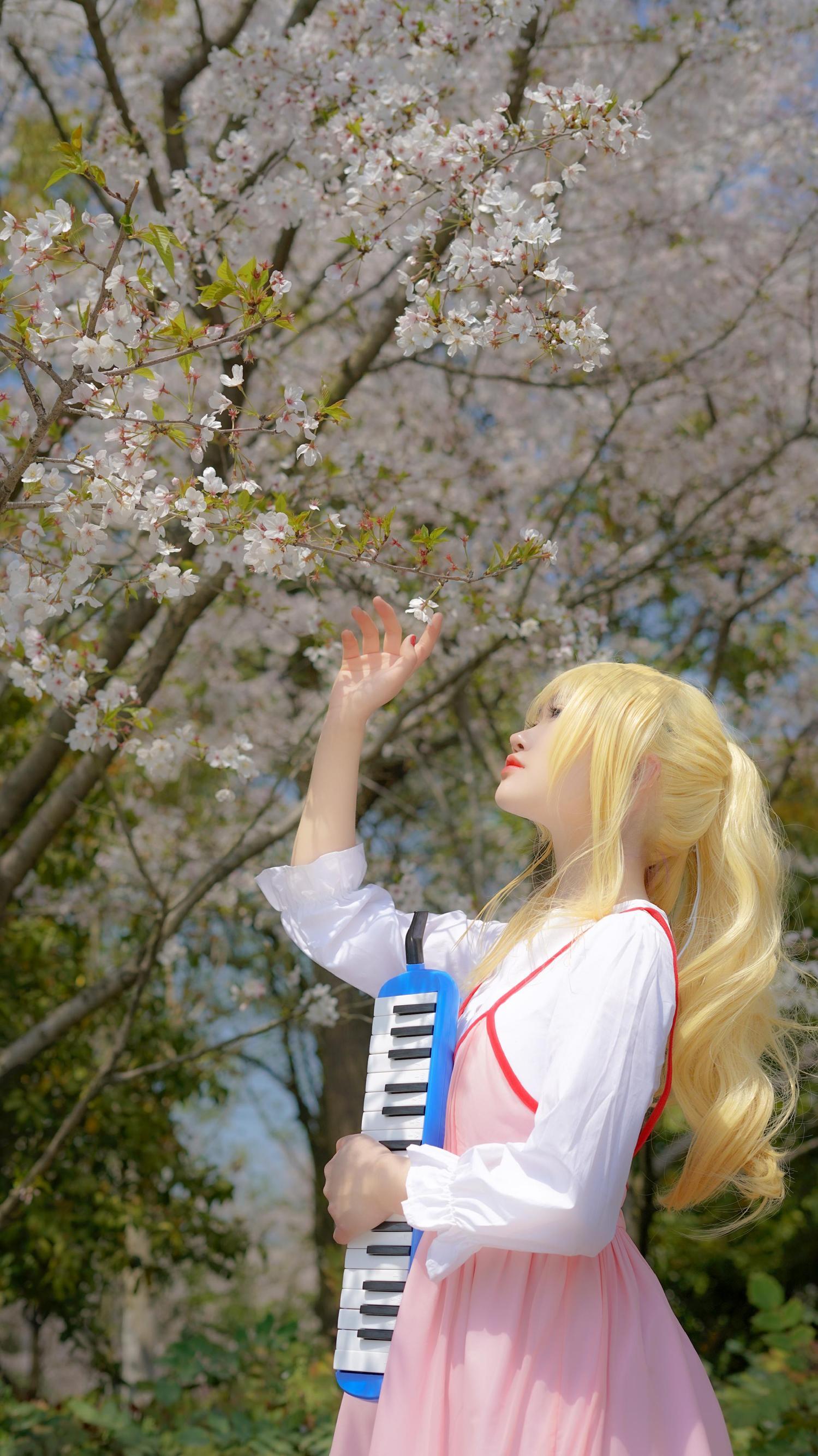 《四月是你的谎言》正片cosplay【CN:西岐花渡】-第1张