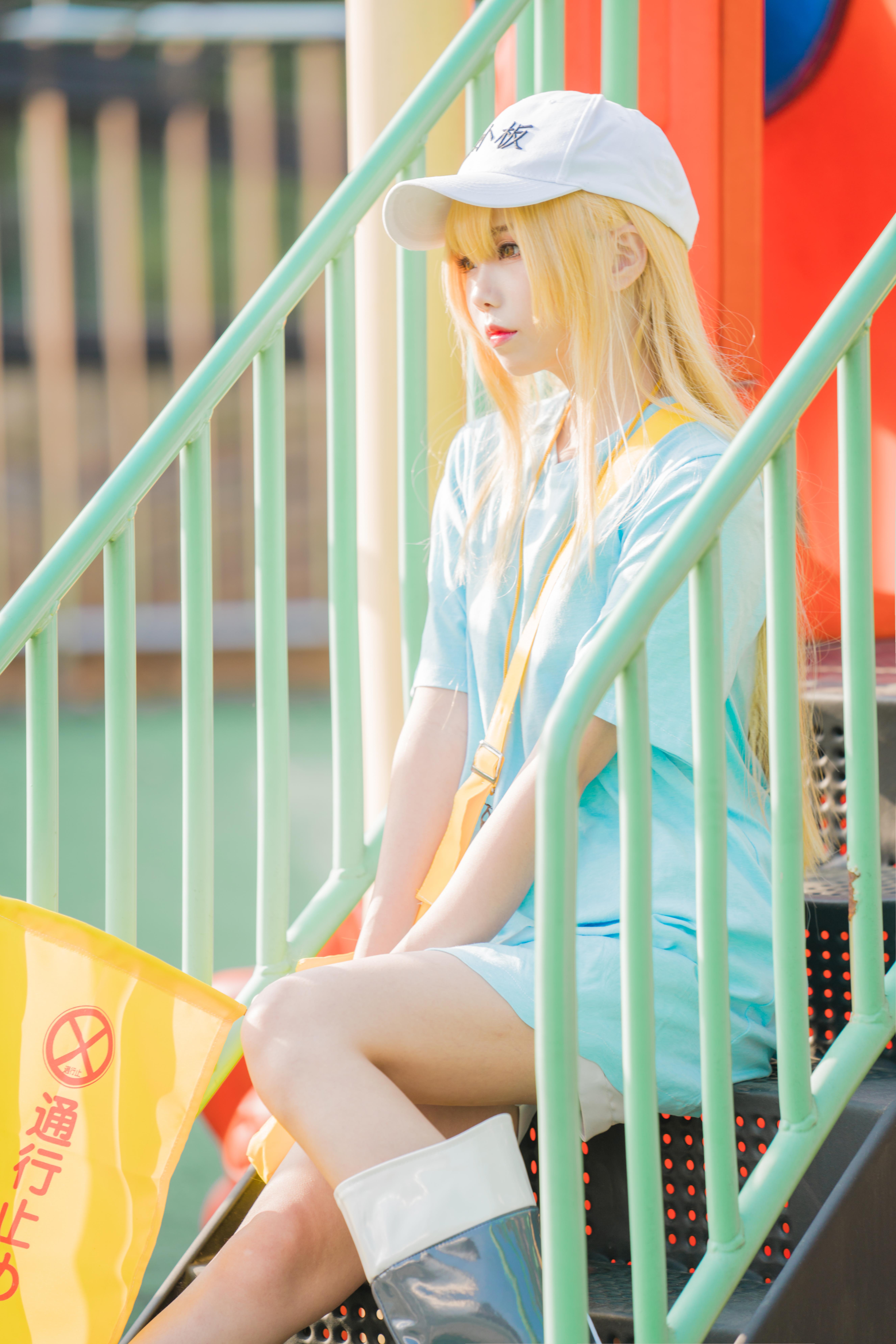 《工作细胞》正片cosplay【CN:伤心屁桃】-第6张