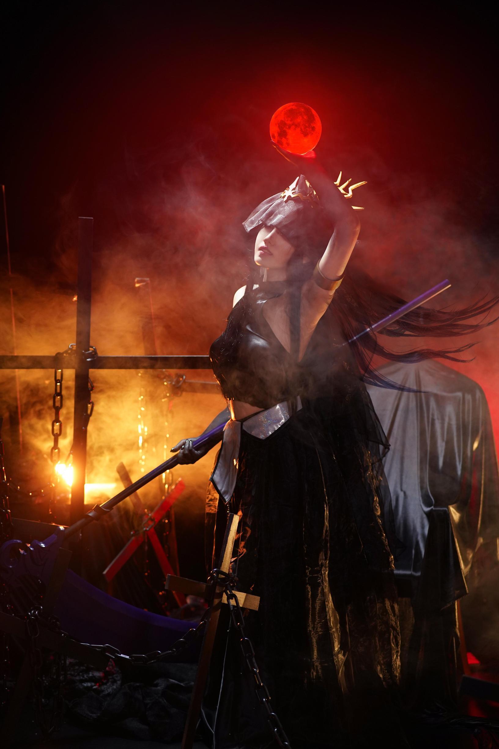 《诡秘之主》女神cosplay【CN:声三岁_】 -蓝光cosplay图片插图