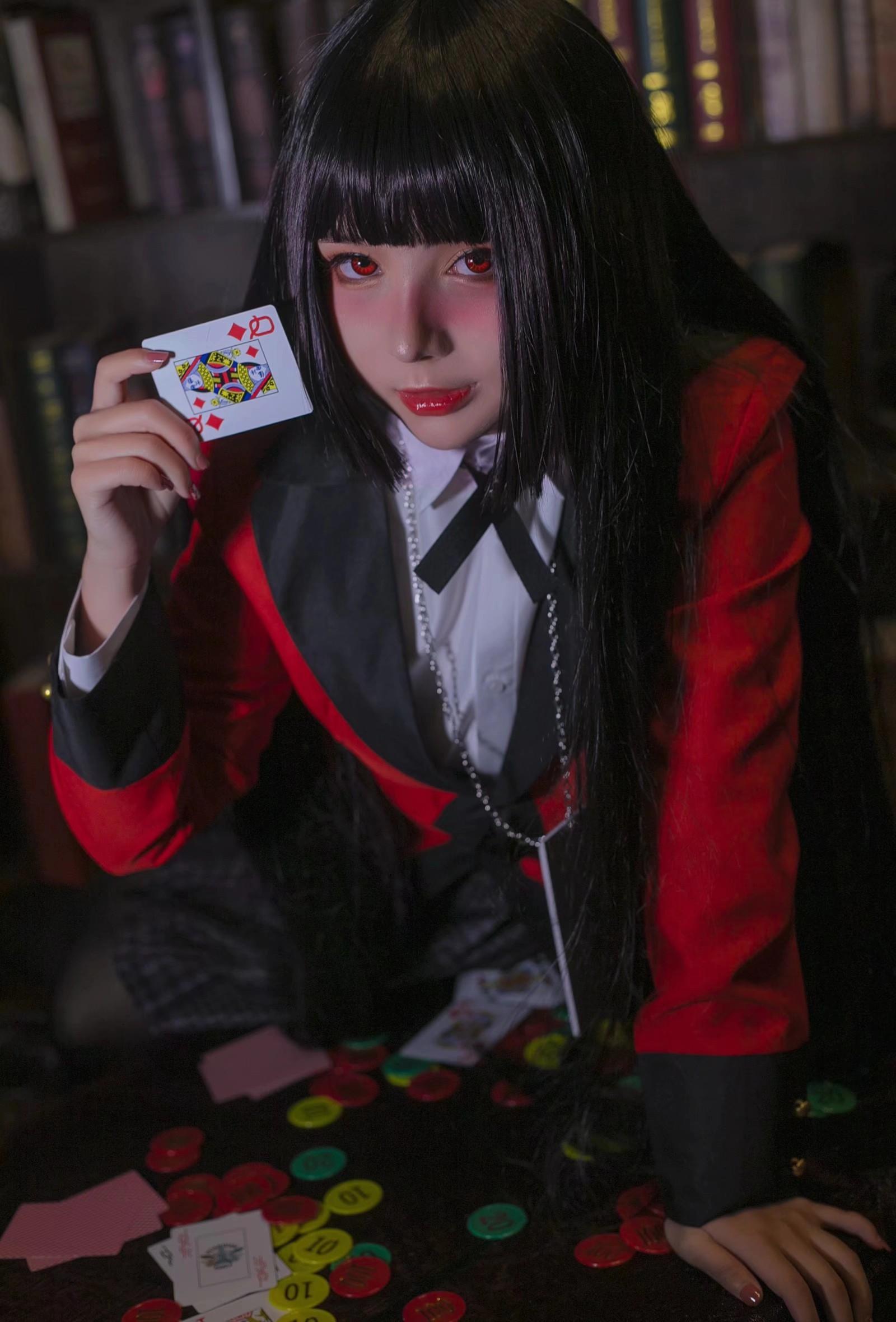 《狂赌之渊》正片cosplay【CN:贰33棚娘】-第5张