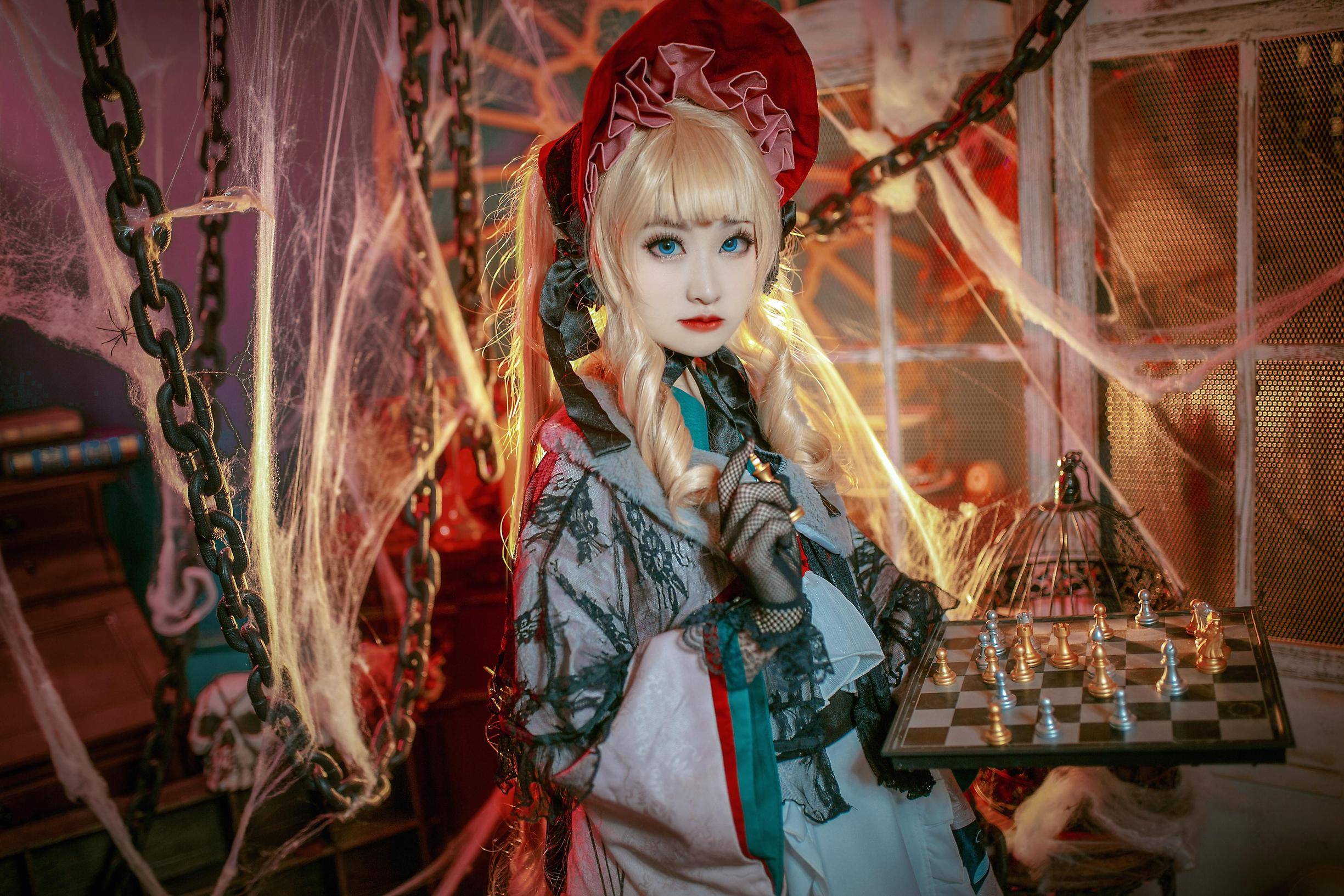 《蔷薇少女》正片cosplay【CN:柠檬子Remonko】-第5张