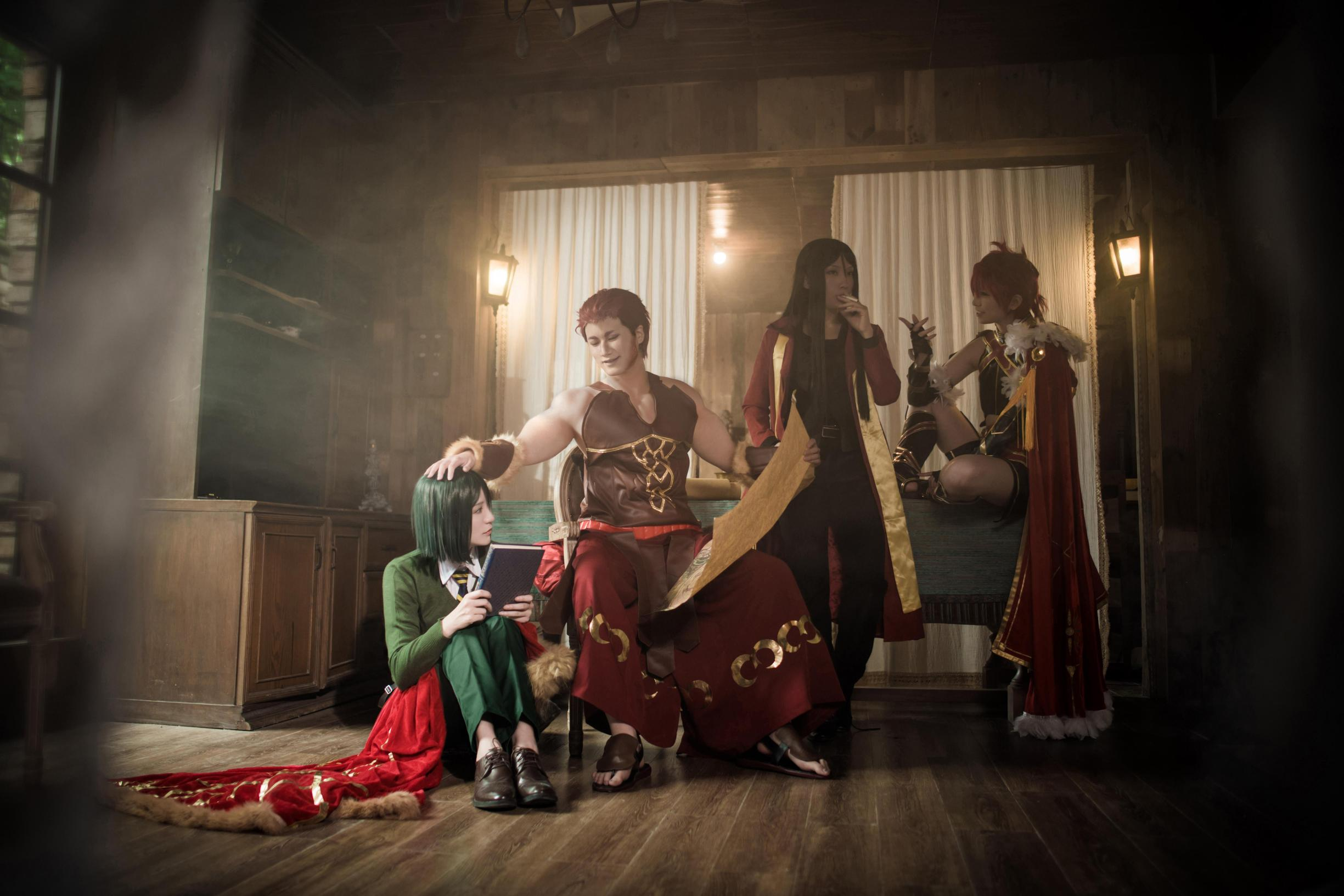 《FATE/GRAND ORDER》梅罗cosplay【CN:椰子也是叶砸】 -cosplay化妆教程图片插图