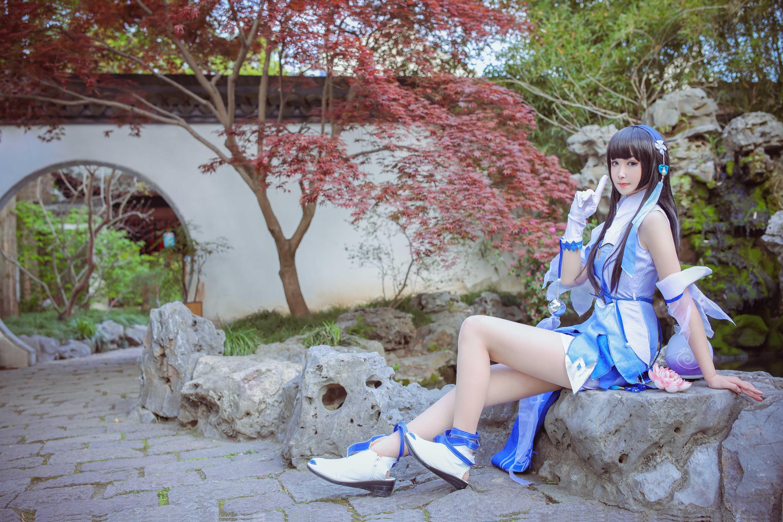 《王者荣耀》王者荣耀西施cosplay【CN:三七七不是二十一】-第8张