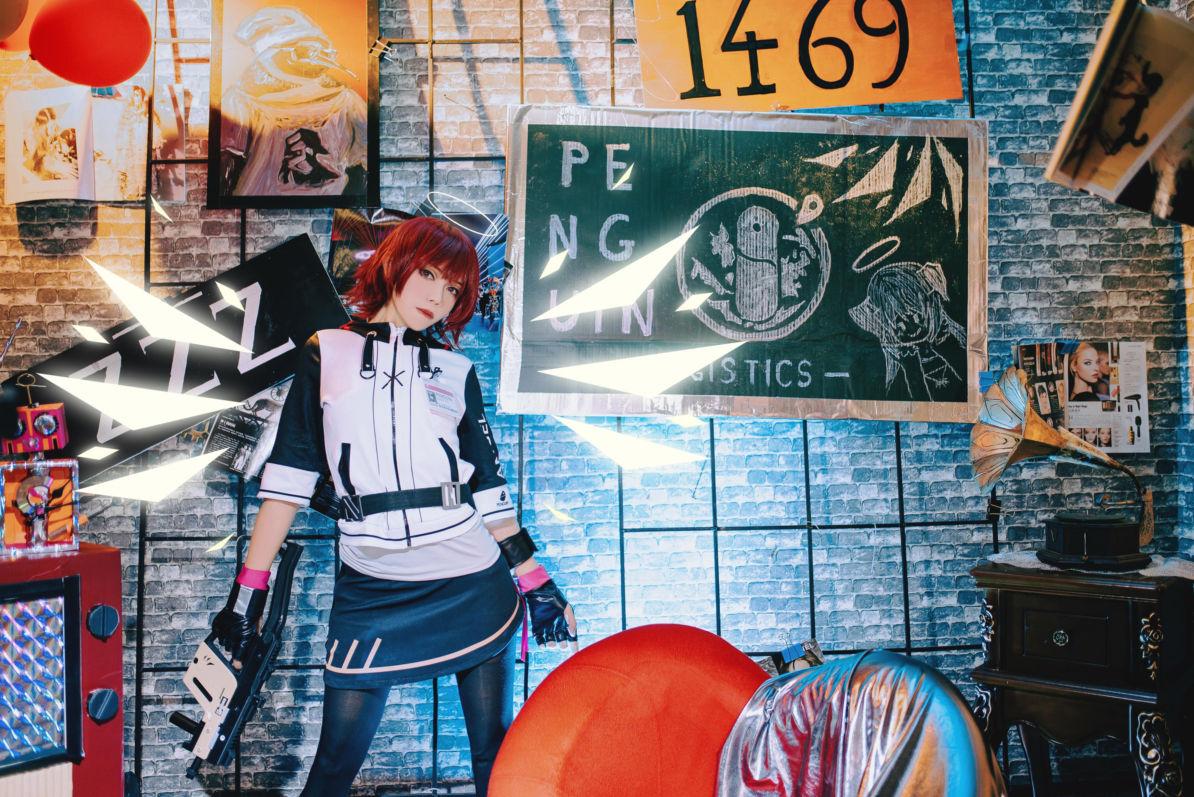 《明日方舟》正片cosplay【CN:鲁丝兔】-第15张