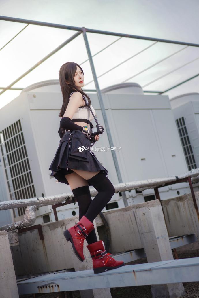 最终幻想7重制版   蒂法·洛克哈特   @黑魔法师夜子 (7P)-第2张