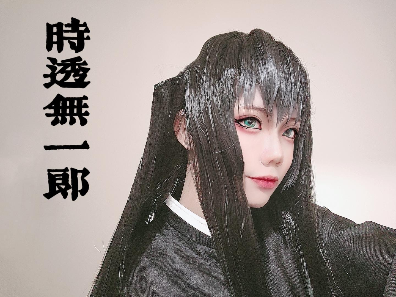 《鬼灭之刃》鬼灭之刃时透无一郎cosplay【CN:别吵猪猪氪cp】-第9张