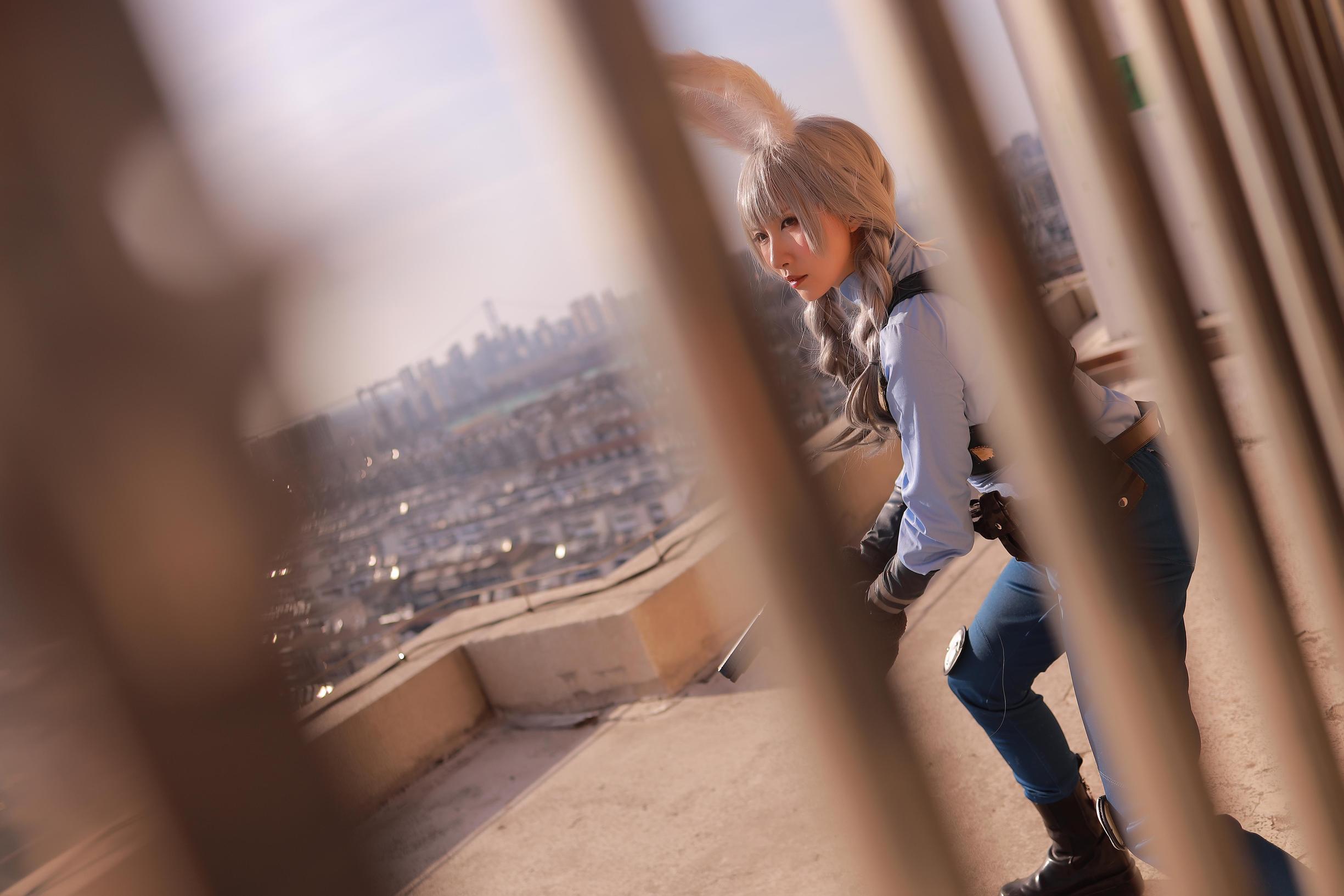 《疯狂动物城》正片cosplay【CN:雪瞳】 -cosplay背景艺术字图片插图