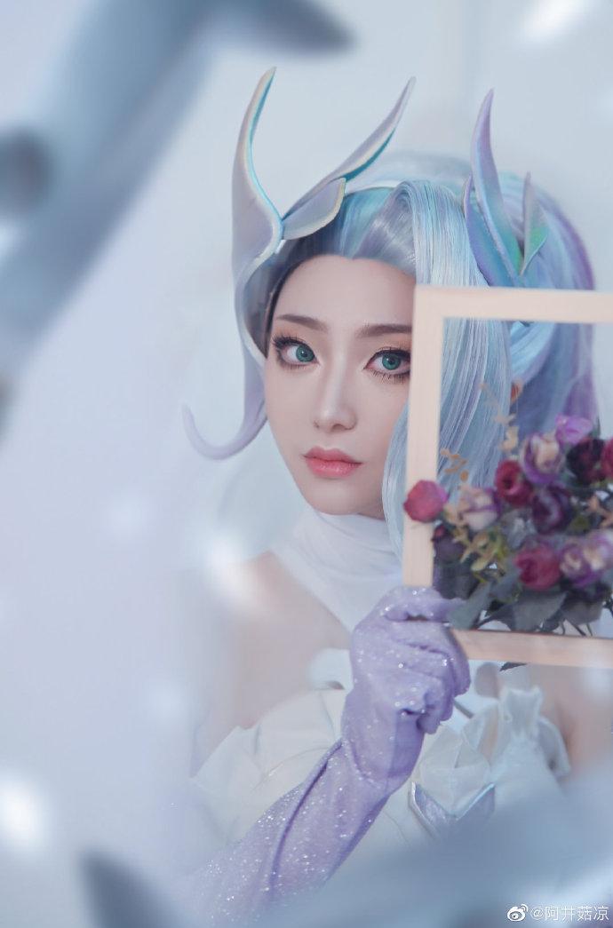 英雄联盟   婕拉   水晶玫瑰   @阿井菇凉 (9P)-第6张