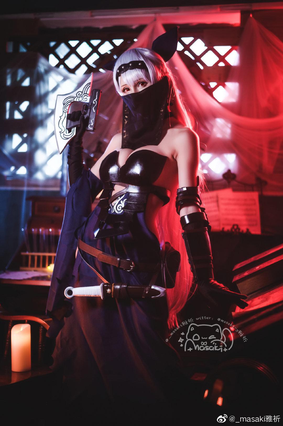 [COS]少女前线   托卡列夫 格里芬的舞娘   @_masaki雅祈 (9P) -美女图片cosplay插图