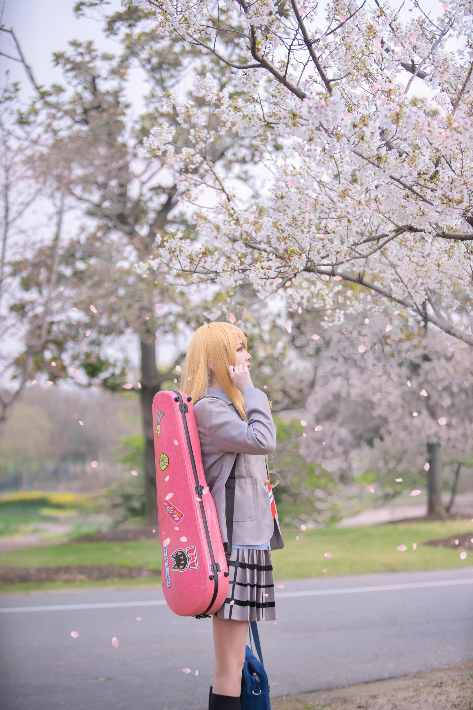 《四月是你的谎言》宫园薰cosplay【CN:逸仔_】-第7张