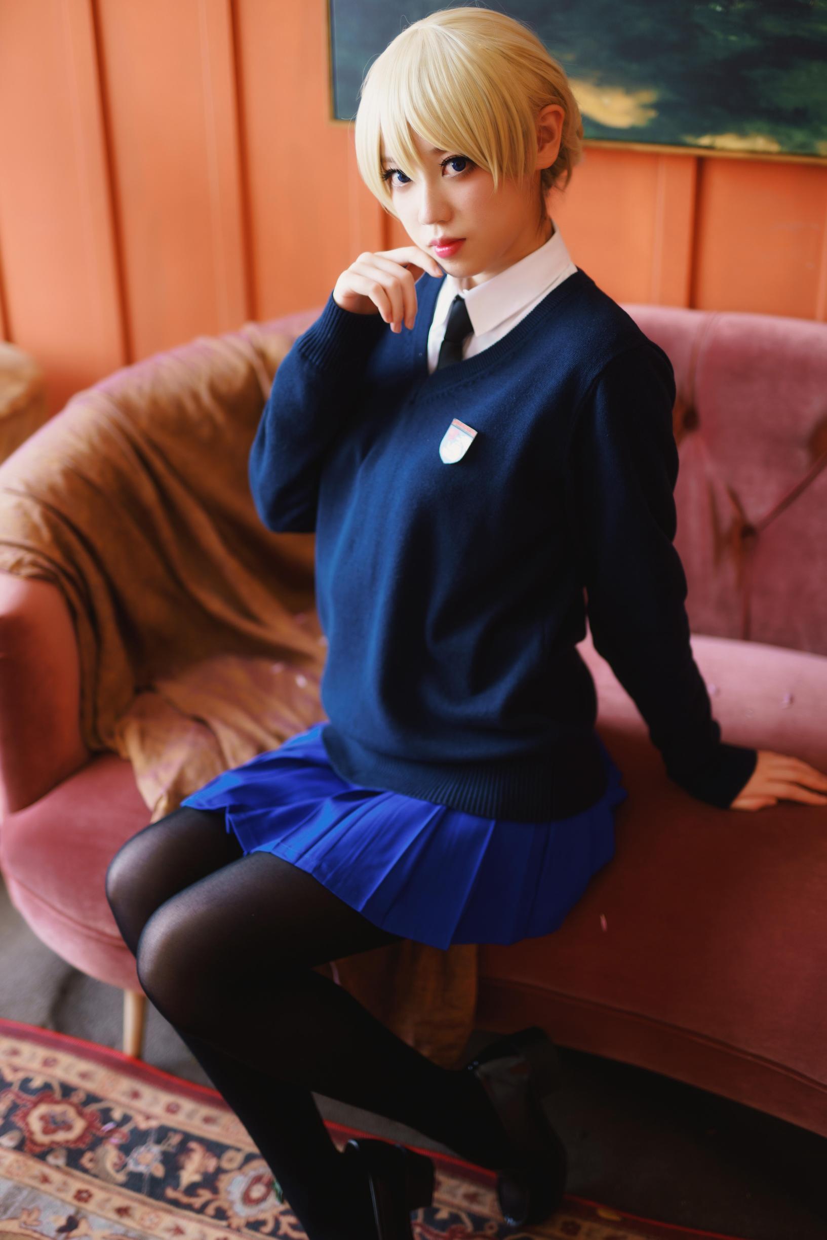 《少女与战车》正片cosplay【CN:Diii就是D】-第16张
