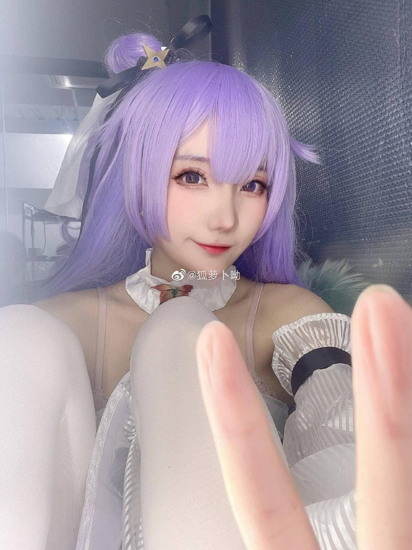 [COS]《碧蓝航线》独角兽cosplay【CN:狐萝卜哟】 (8P) -周棋洛cosplay图片插图