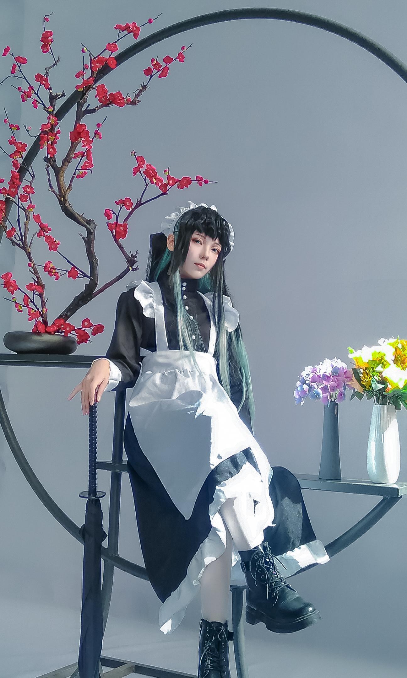 《鬼灭之刃》鬼灭之刃时透无一郎cosplay【CN:这是一只安爷】-第2张