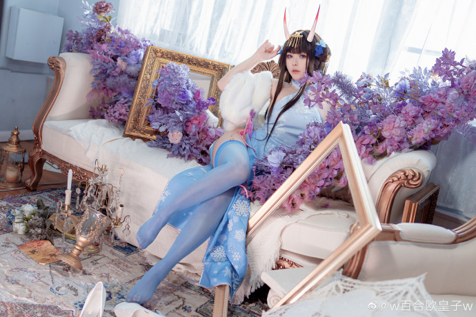 [COS]碧蓝航线   貅(能代)「冬雪沁香」   @w百合欧皇子w (9P) -王琳凯cosplay图片插图