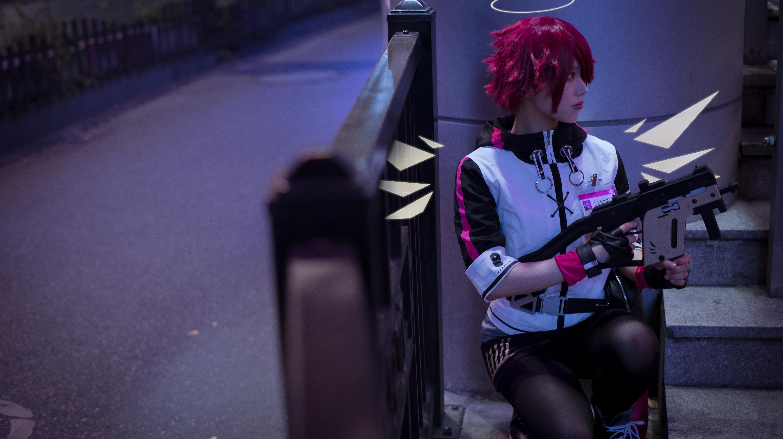 《明日方舟》法则cosplay【CN:KizunaFerin】-第14张
