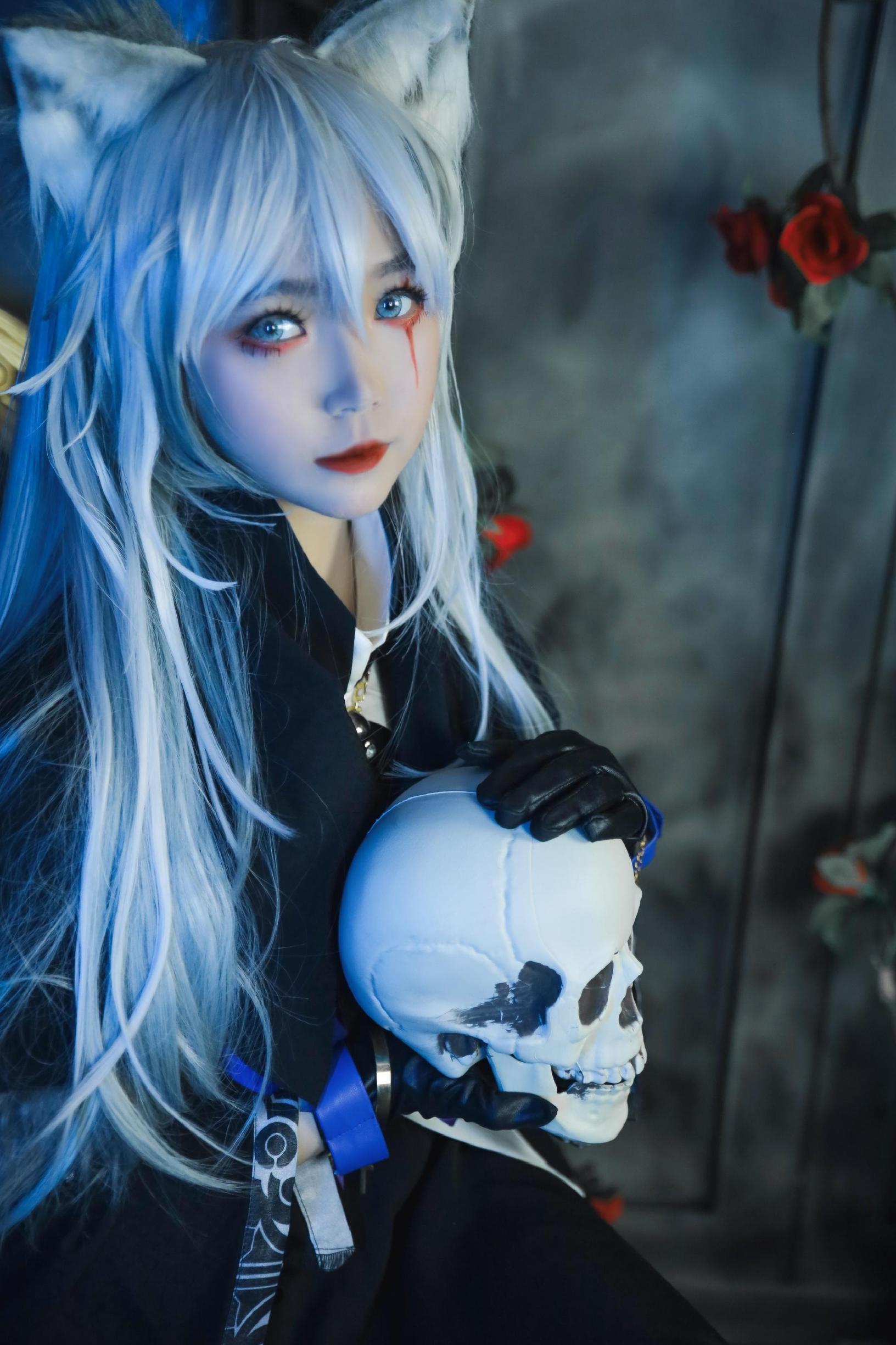 《明日方舟》正片cosplay【CN:Enki.lily.凛离】-第2张