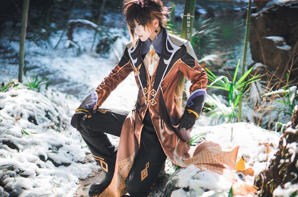 《原神》游戏cosplay【CN:斑厂长和囧天两个小垃圾】-第9张