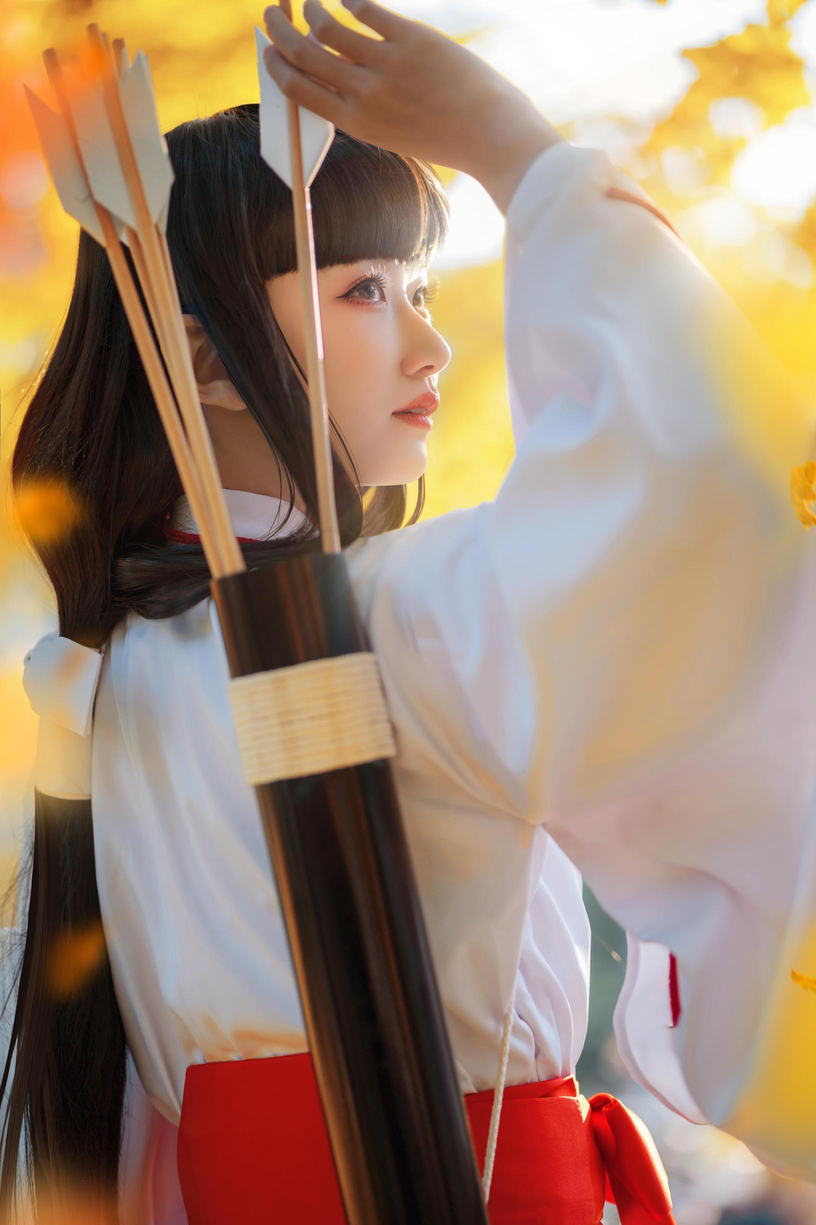 《犬夜叉》桔梗cosplay【CN:风眠眠w】-第10张