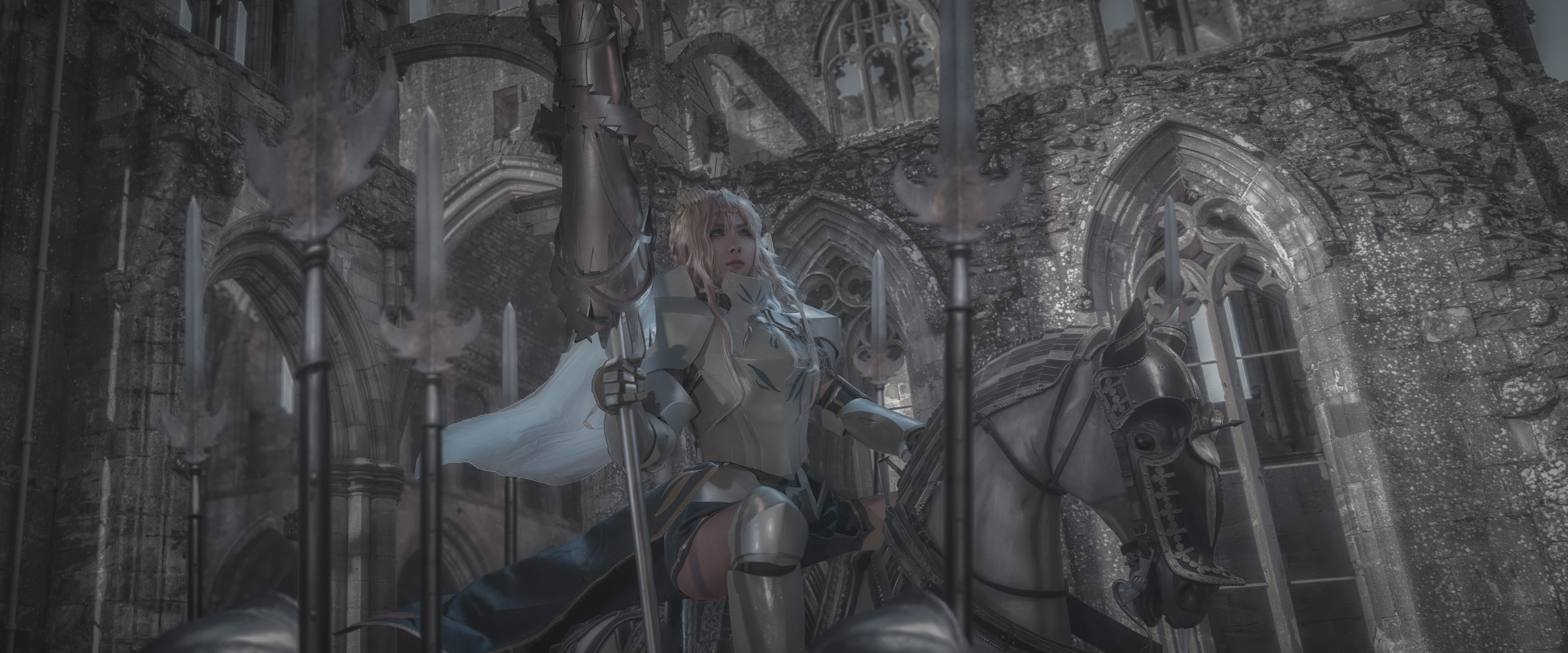 《FATE/ZERO》正片cosplay【CN:艾斯诺提伽】-第2张