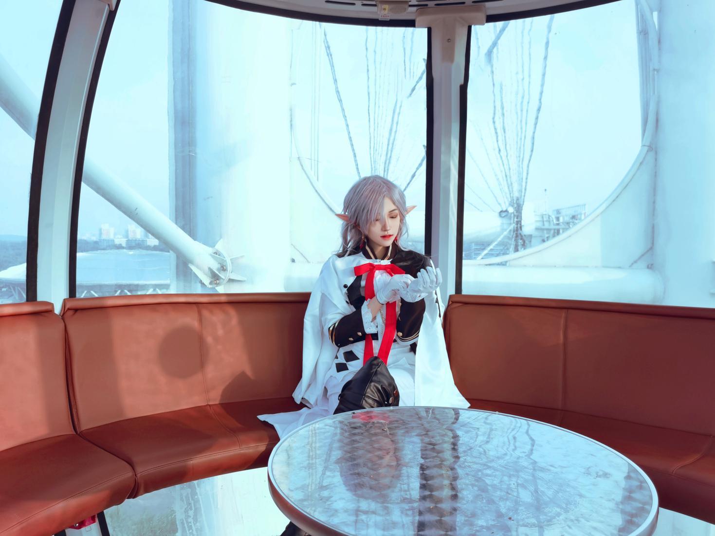 《终结的炽天使》终结的炽天使费娘cosplay【CN:君莫笑笑笑笑笑啊】-第2张