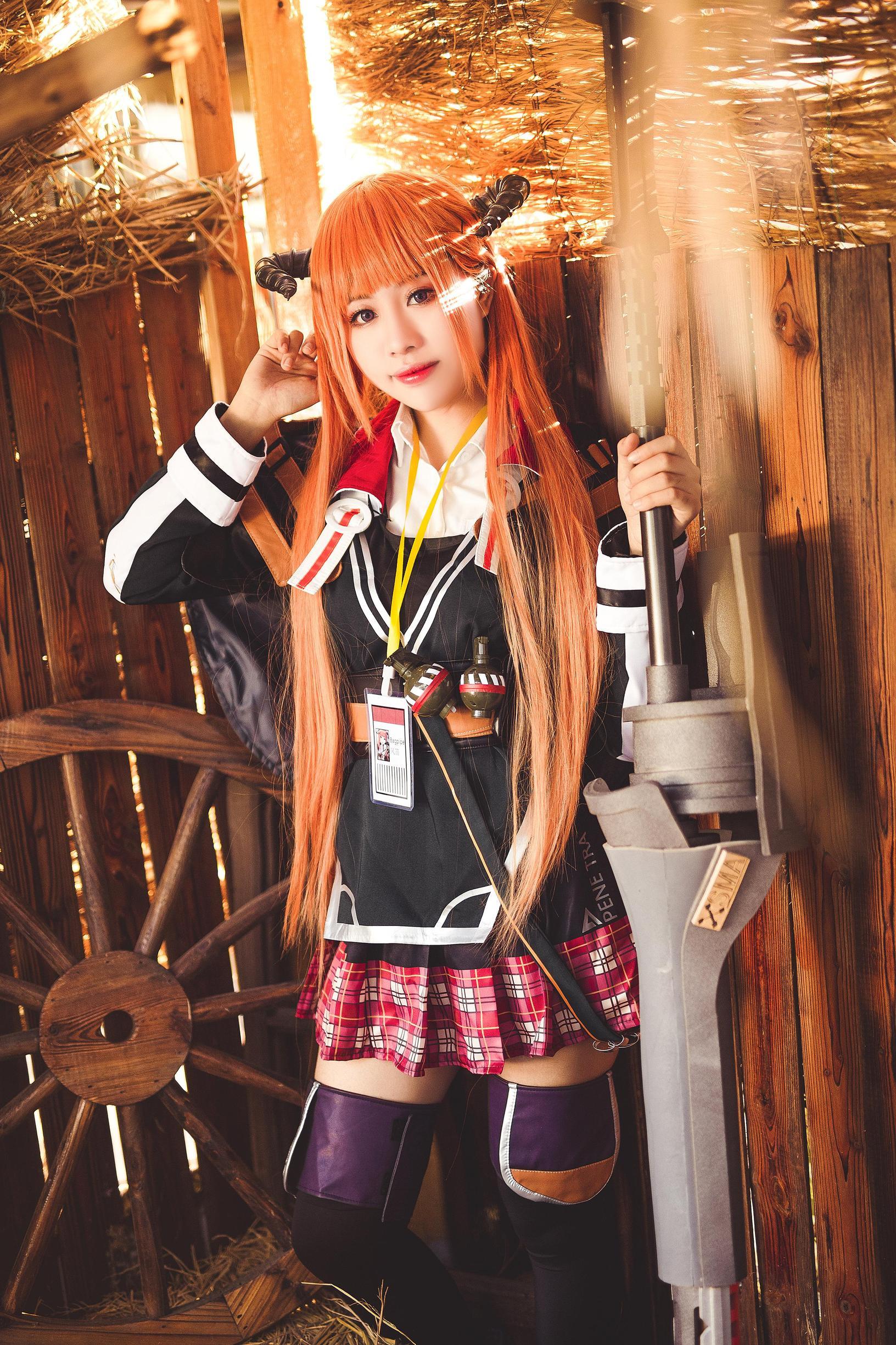《明日方舟》广州cosplay【CN:春春春子_】-第18张
