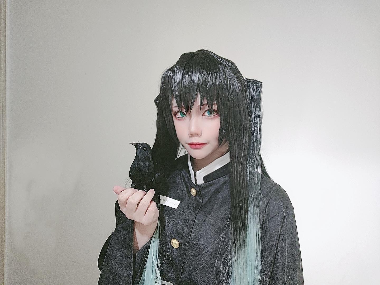 《鬼灭之刃》鬼灭之刃时透无一郎cosplay【CN:别吵猪猪氪cp】-第13张