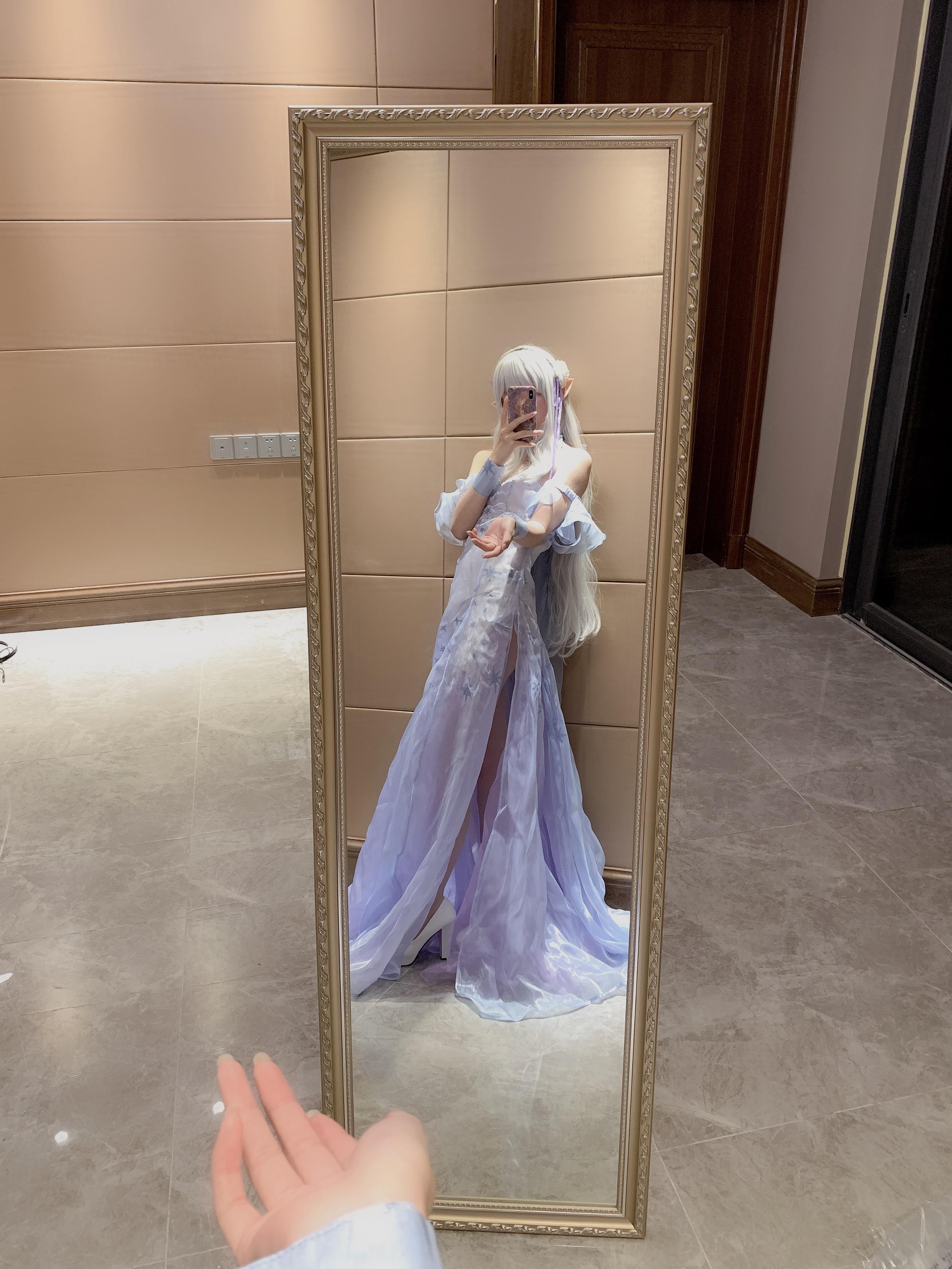 《RE:从零开始的异世界生活》艾米莉亚cosplay【CN:Rin__】-第5张
