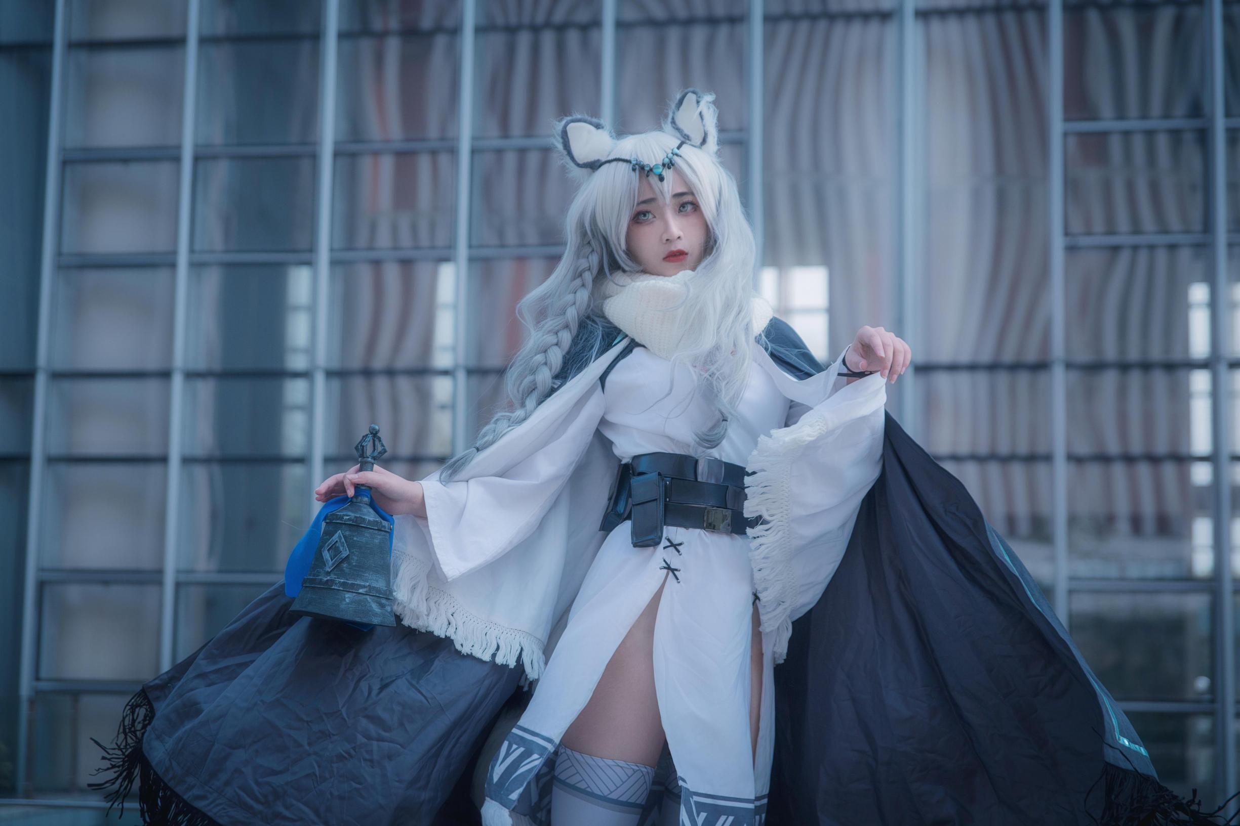《明日方舟》漫展cosplay【CN:Futaba双叶】 -穿越王者联盟cosplay图片插图