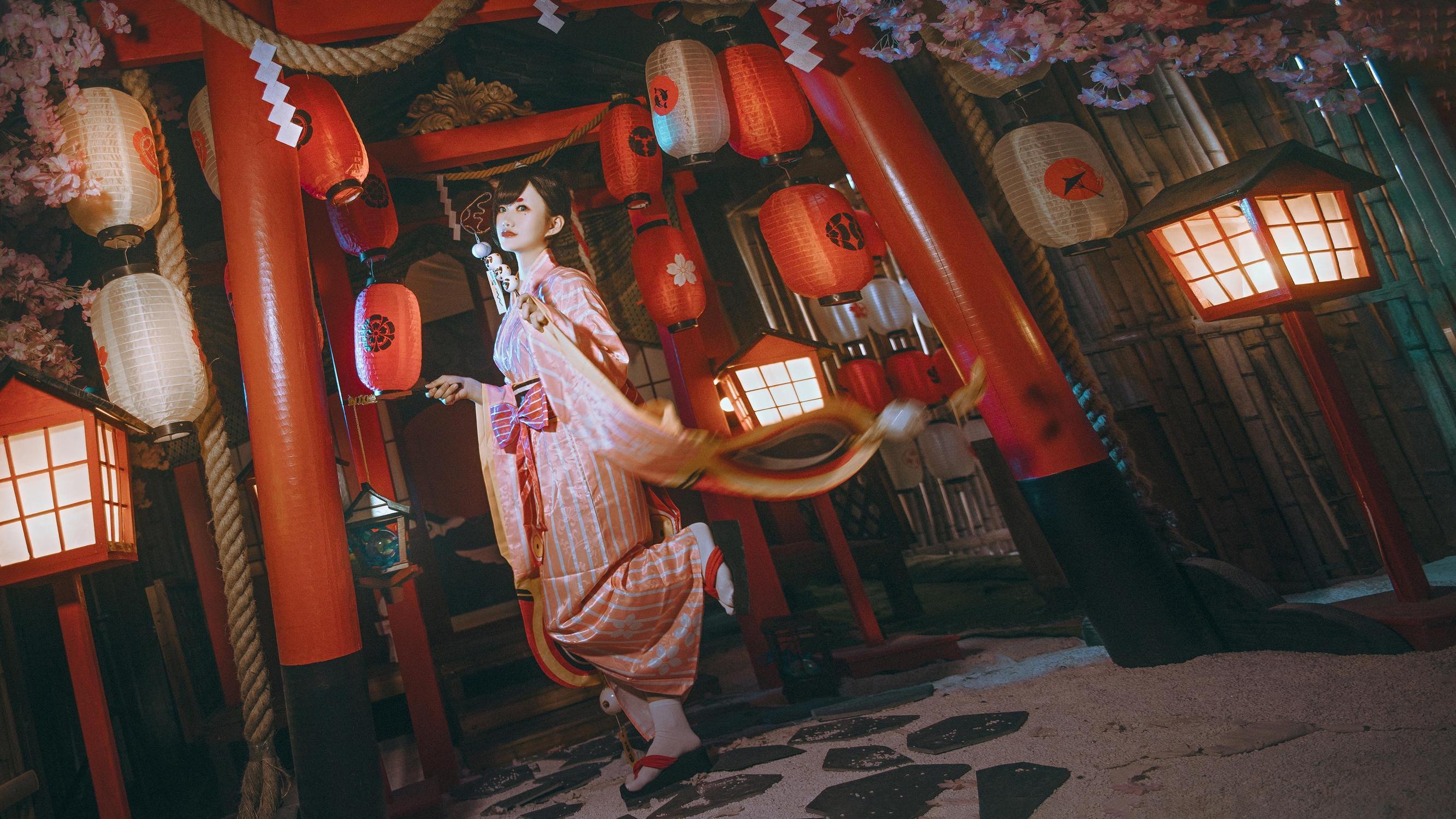 《阴阳师手游》网易阴阳师cosplay【CN:卿绾歌】-第5张