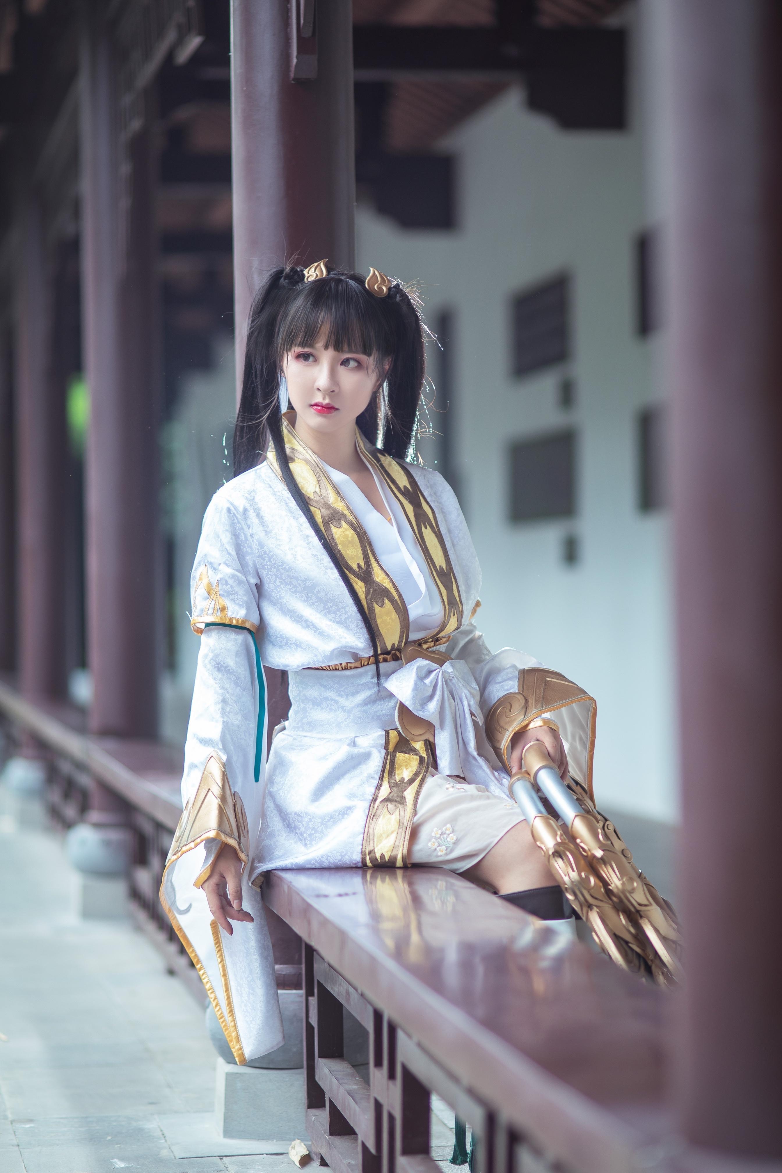 《天涯明月刀OL》古风cosplay【CN:瑶音音】-第6张