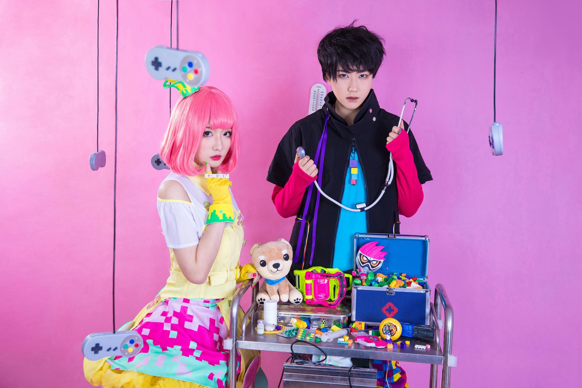 《假面骑士EX-AID》正片cosplay【CN:豆包Yunami】-第2张
