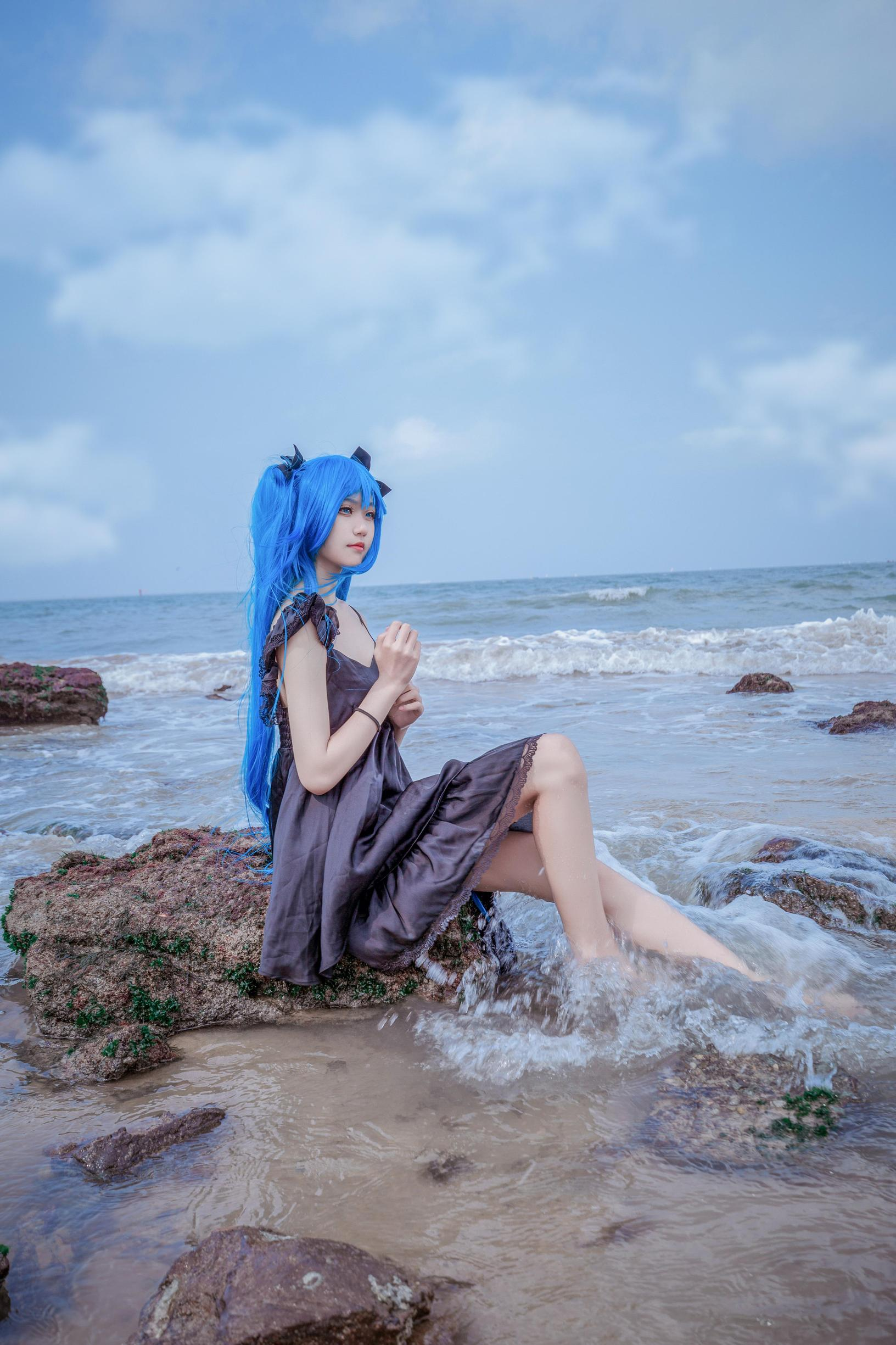 深海少女cosplay【CN:乔儿_】-第5张
