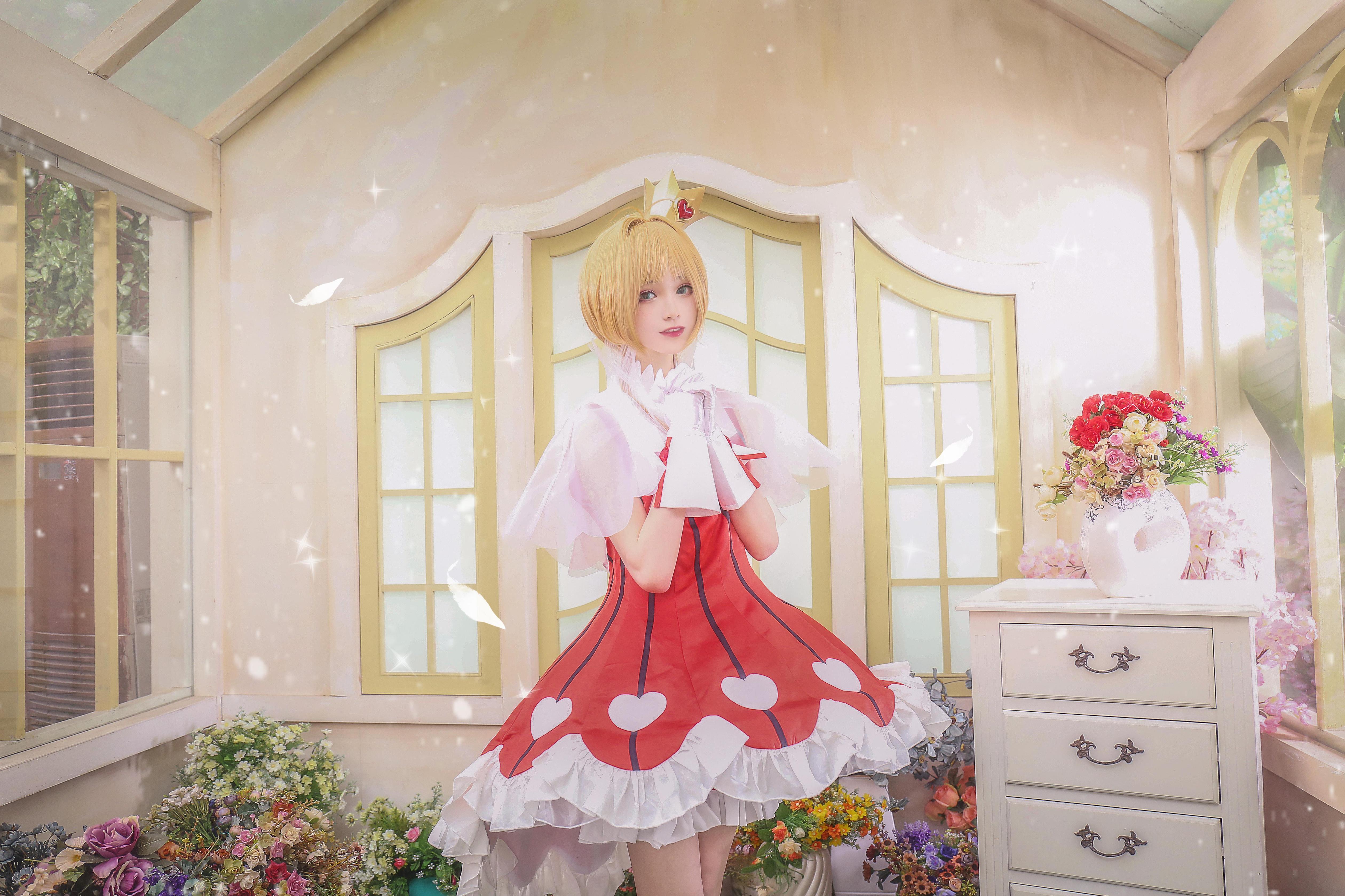 《魔卡少女樱》魔法少女小樱cosplay【CN:柳川萌_moe】-第3张