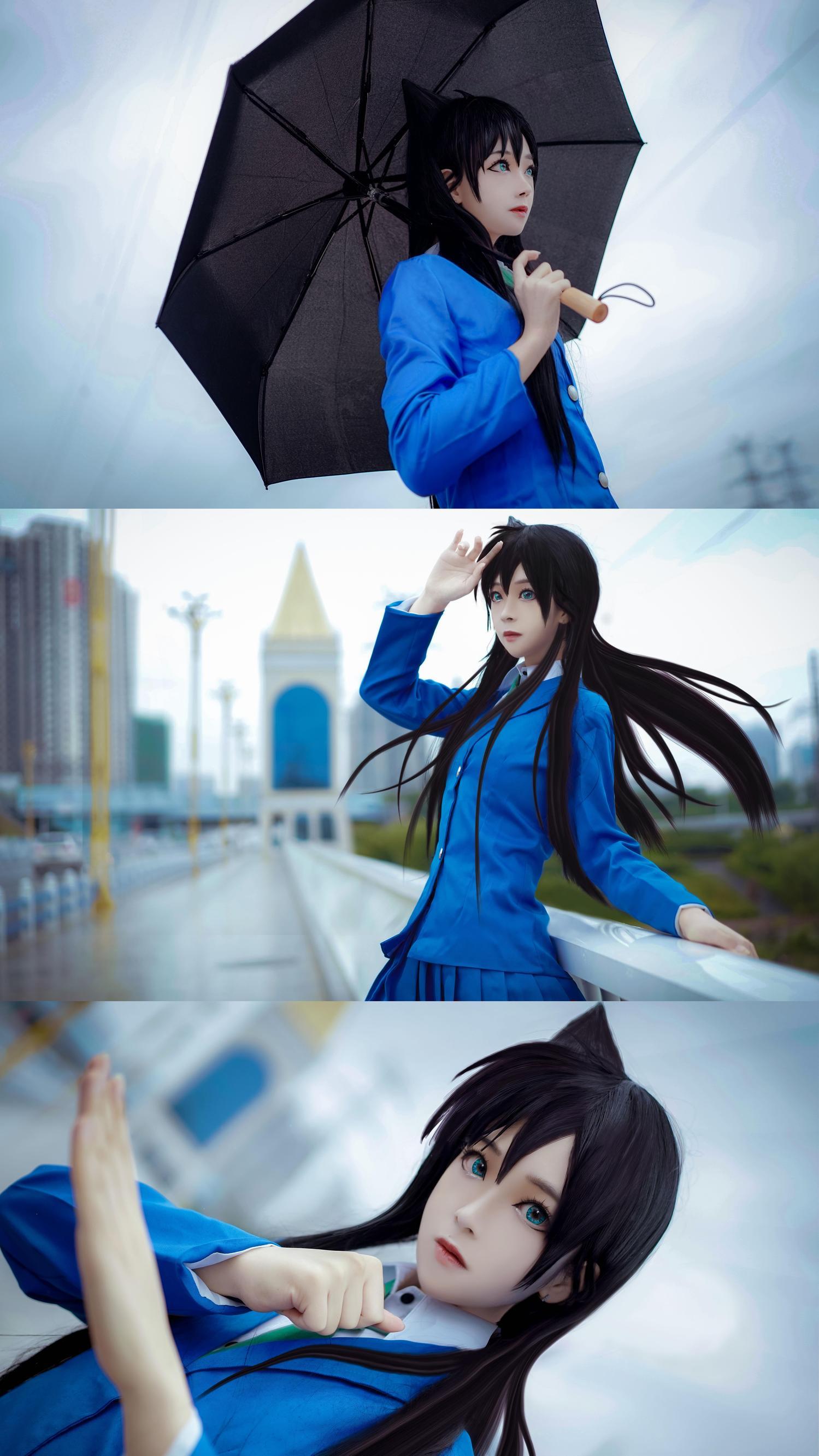 《名侦探柯南》毛利兰cosplay【CN:鬼肆A】-第12张