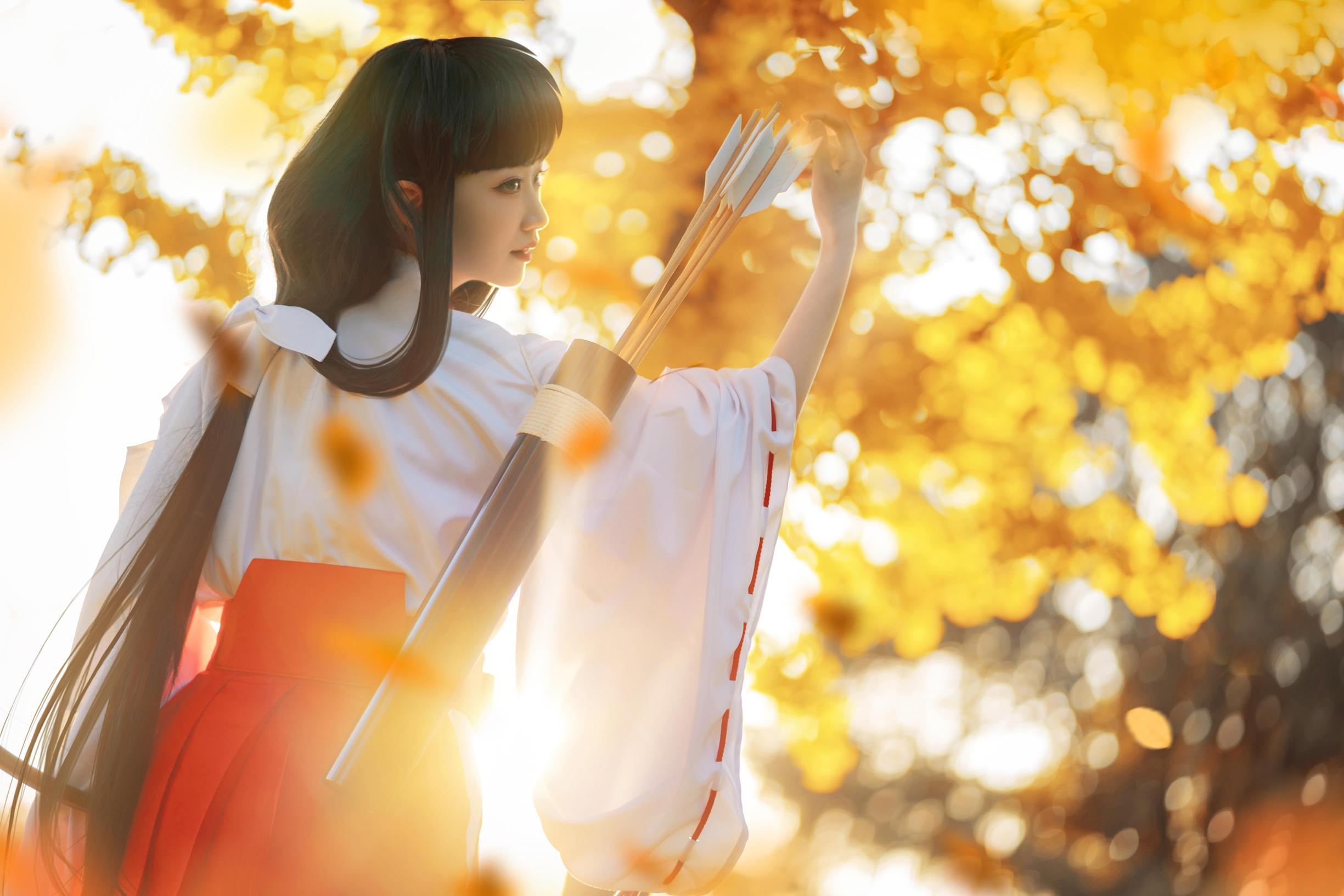 《犬夜叉》桔梗cosplay【CN:风眠眠w】-第7张
