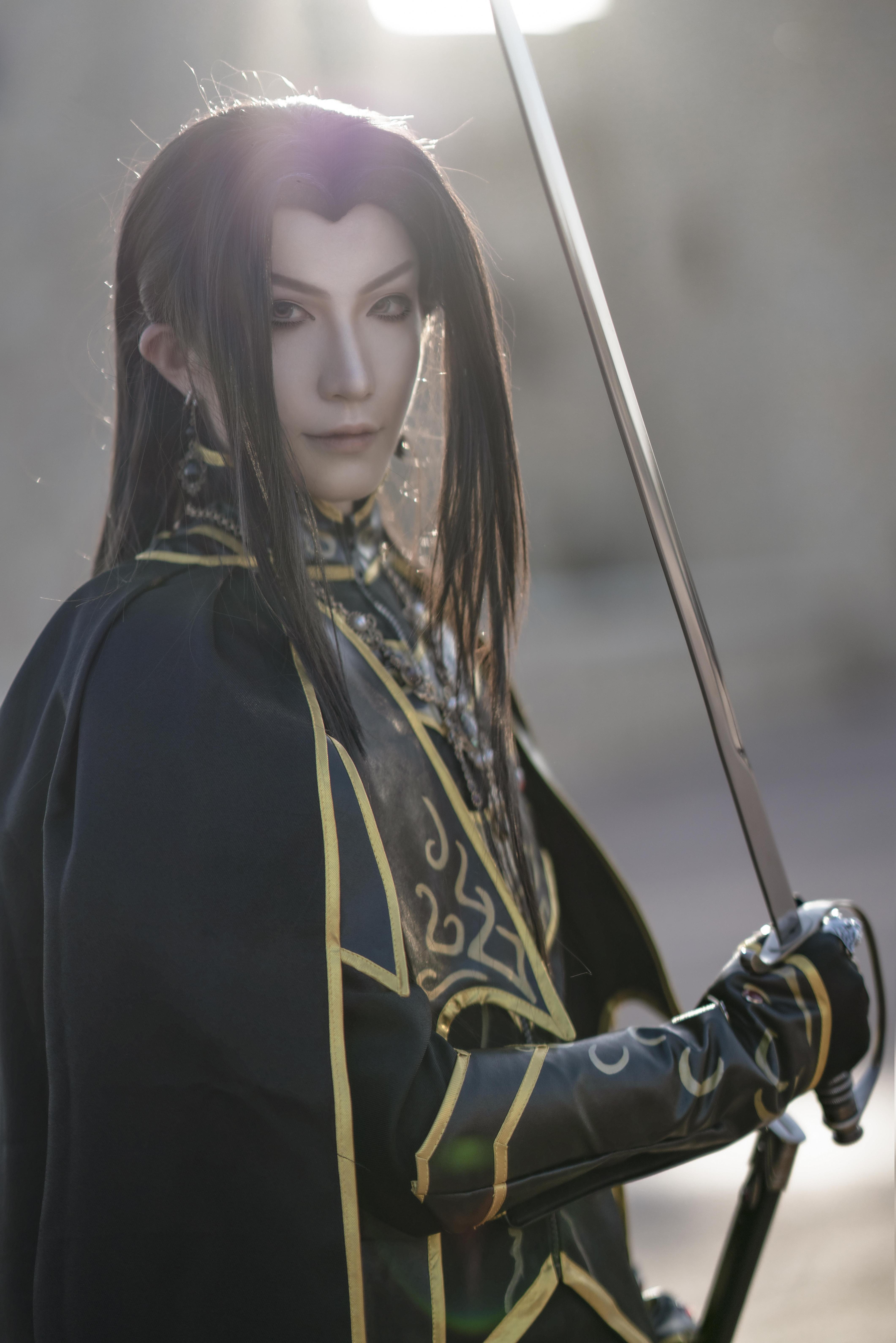 《天神右翼》正片cosplay【CN:斯诺_Yukina】-第6张