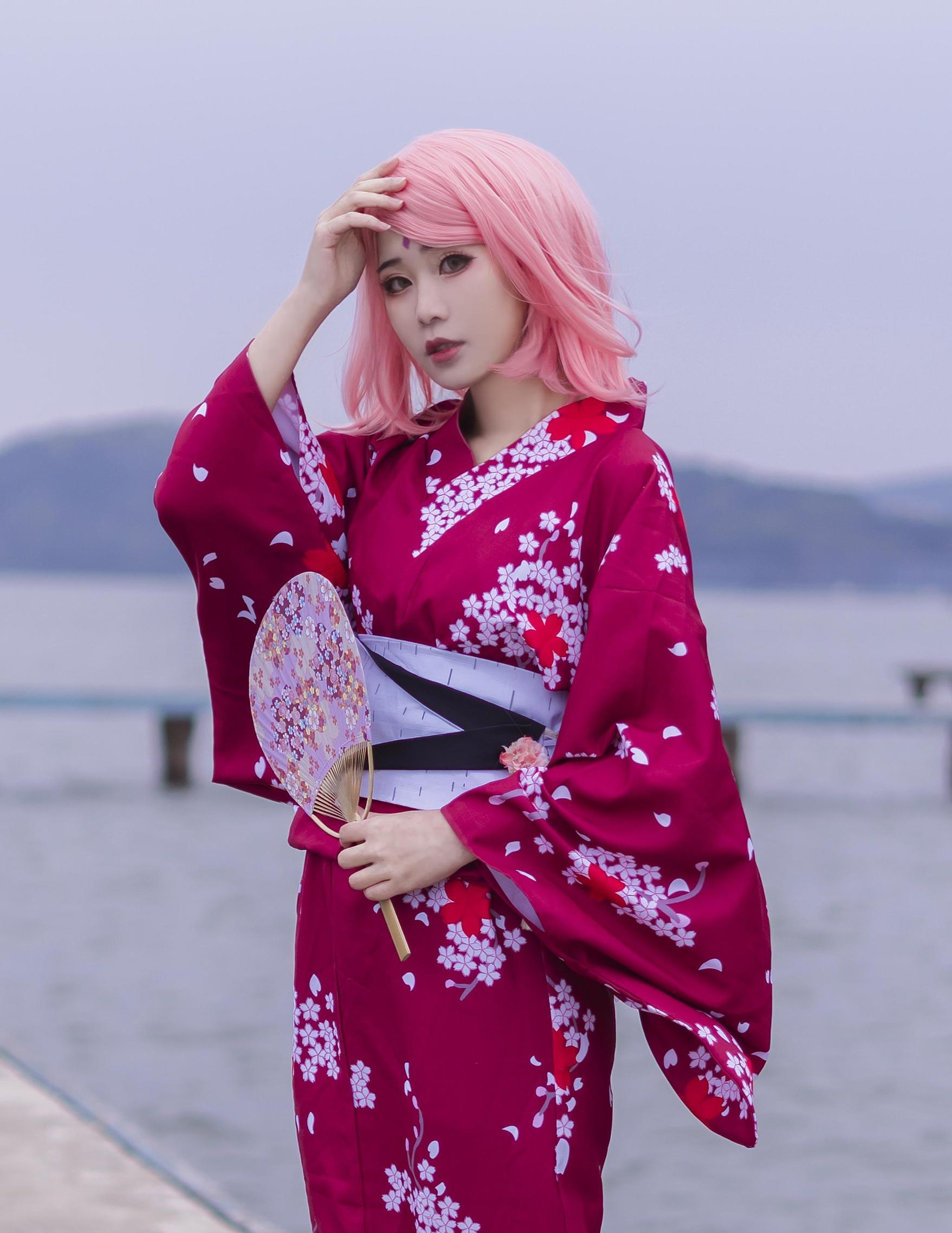 《火影忍者》火影忍者春野樱cosplay【CN:Naraku阿峰】-第1张